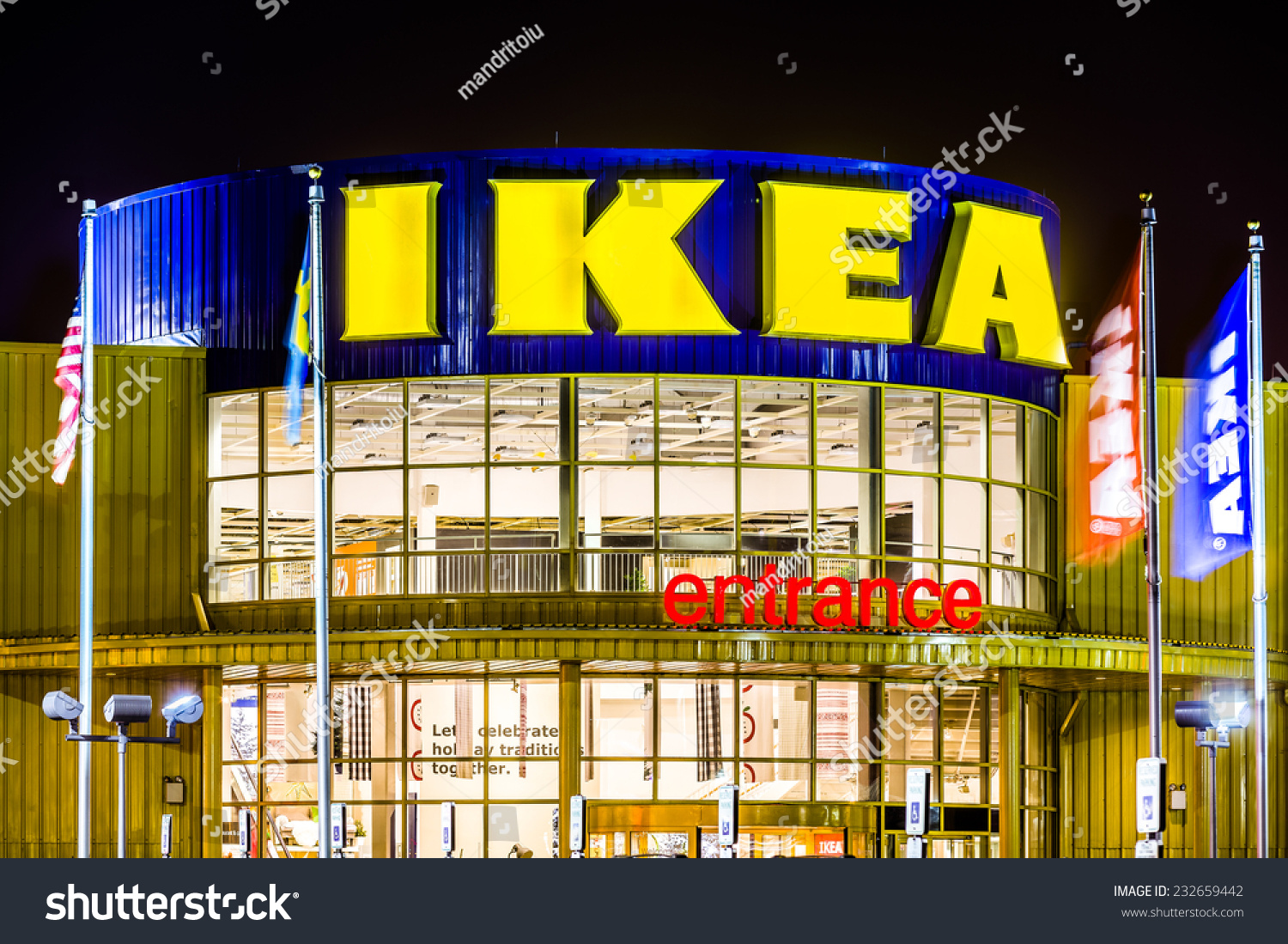 Ikea Elizabeth Hours Elizabeth Nj Usa November 23 2014 Stock Photo Edit Now 232659442
