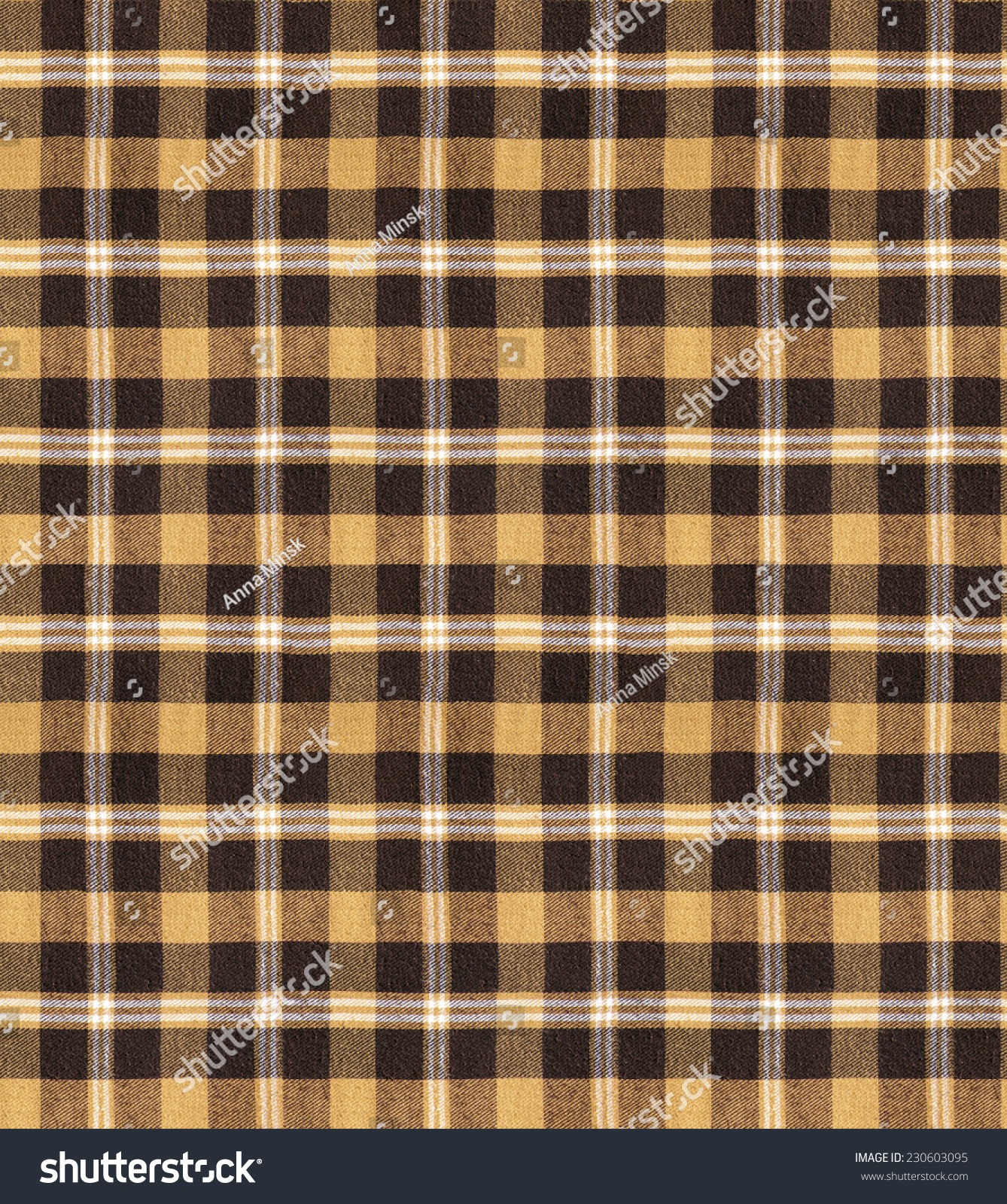 Brown Seamless Fabric Textures Fabric Plaid Texture Cloth Background Plaid Seamless Pattern