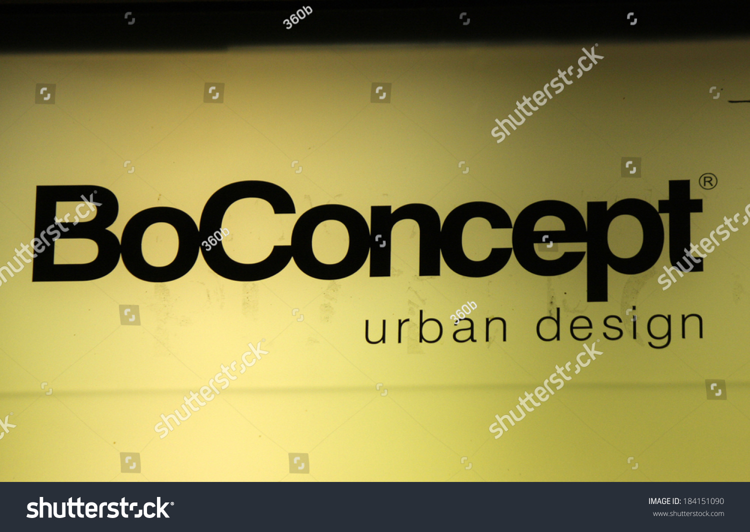 Logo Boconcept February 15 2014 Berlin Logo Brand Stock Photo Edit Now