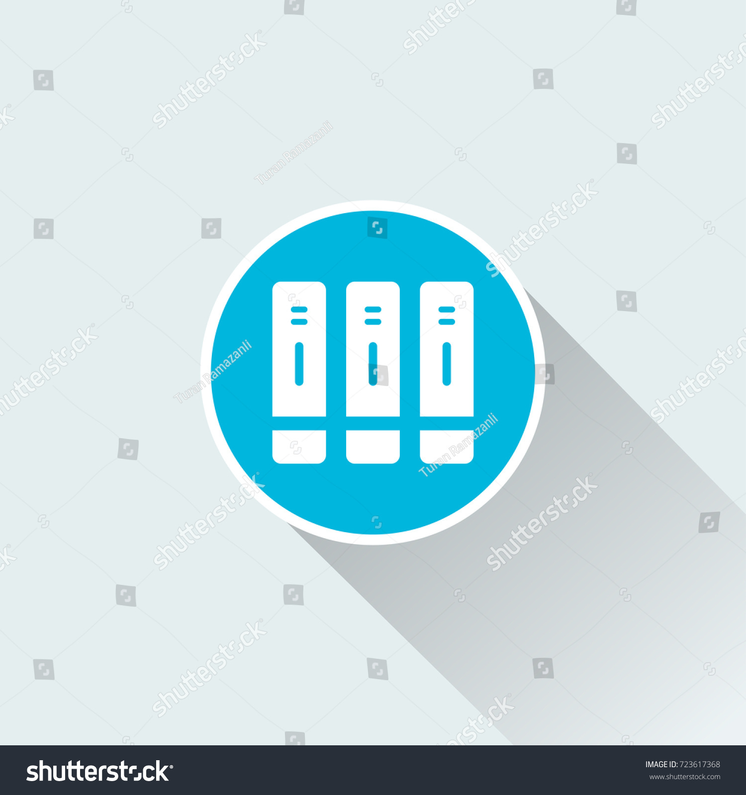 Filing Cabinet Icon Flat Royalty Free Stock Illustration Of Flat Filing Cabinet Icon Stock