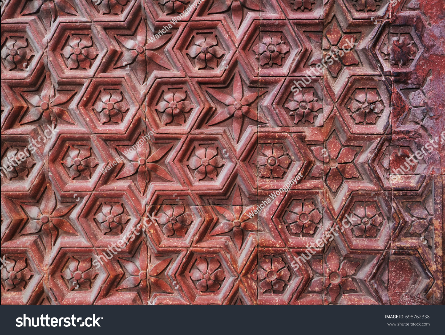 Motif Relief Floral Motif Geometric Pattern Base Relief Stock Photo Edit Now