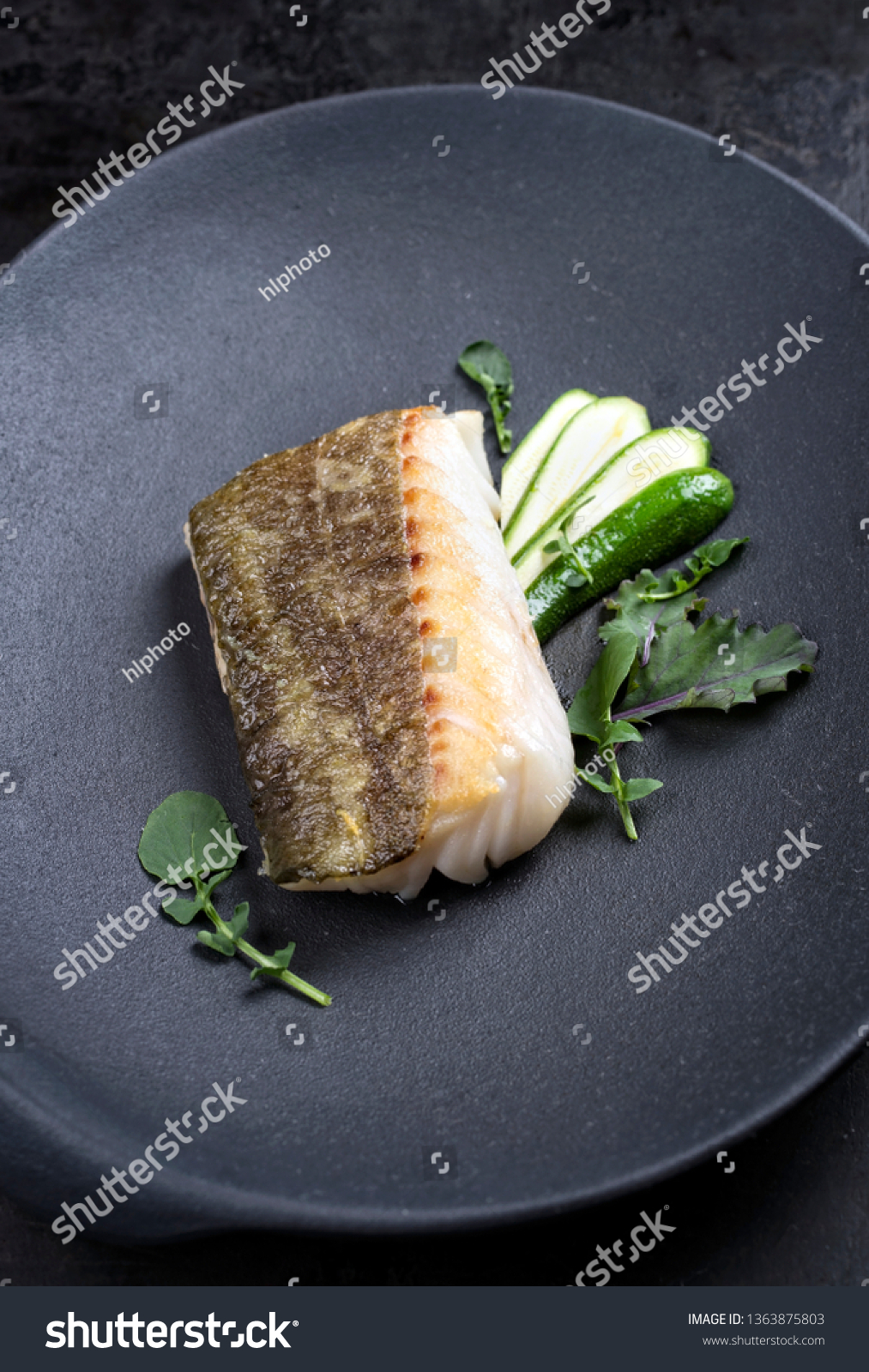 Baby Cod Fried Danish Skrei Cod Fish Filet Stock Photo Edit Now