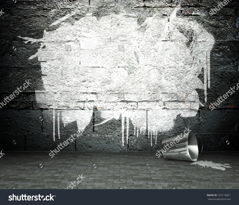 Graffiti wall cairns - Graffiti Wall Cairns Graffiti Wall Frame Street Art Background Stock Illustration Download