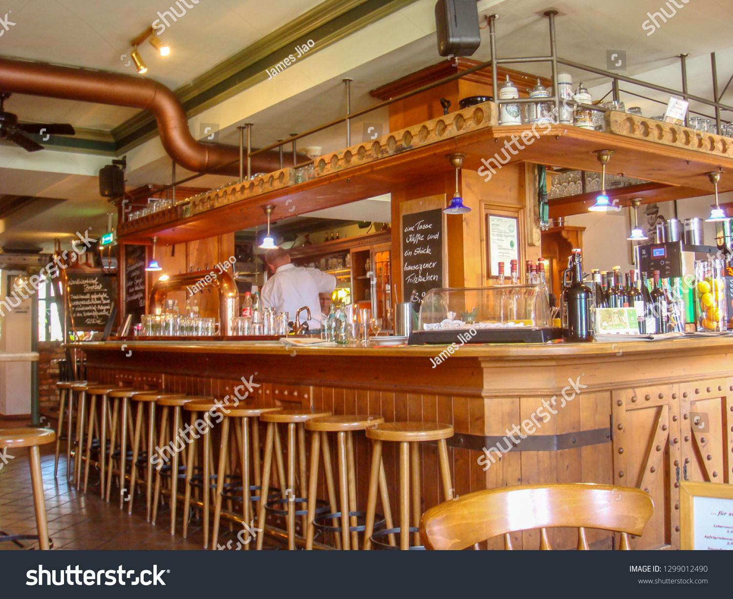 International Office Greifswald Greifswald Germany Traditional Bar Lots Wooden Stock Photo Edit
