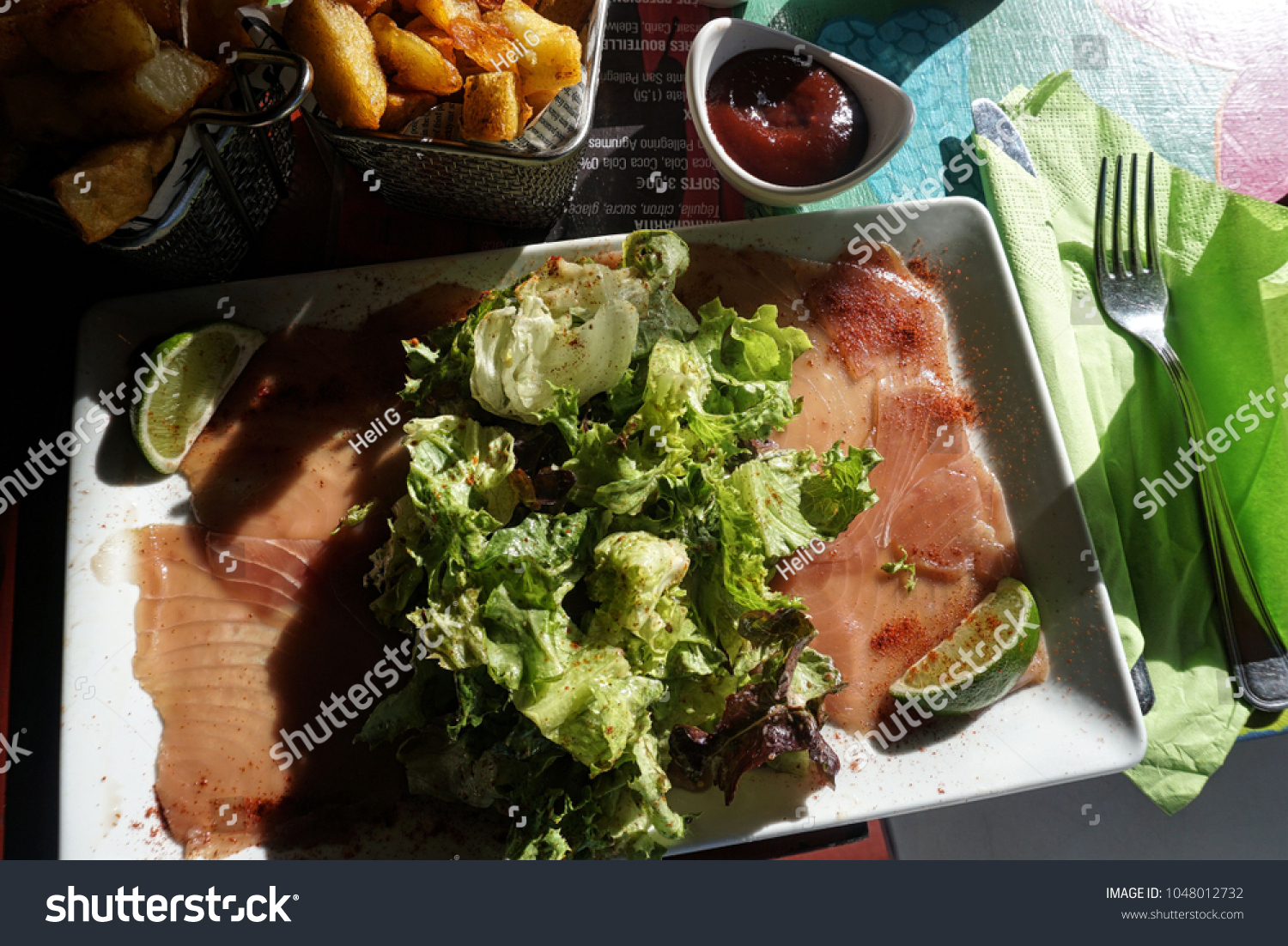 Cuisine Guadeloupe Guadeloupe Caribbean France February 9 2018 Stock Photo Edit Now