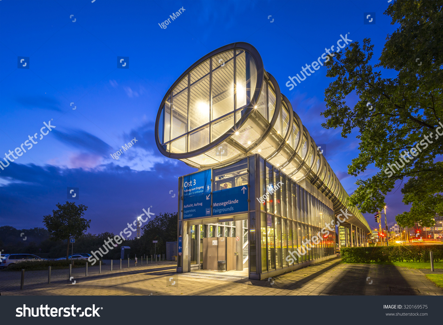 Expo Plaza Hannover Hannover Germany September 19 2015 Expo Stock Photo Edit Now