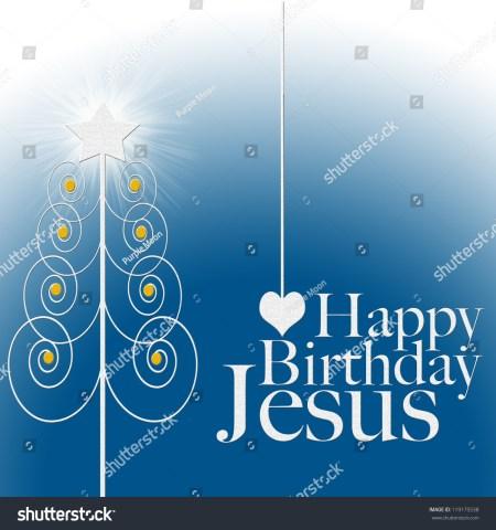 Jesus Singing Happy Birthday