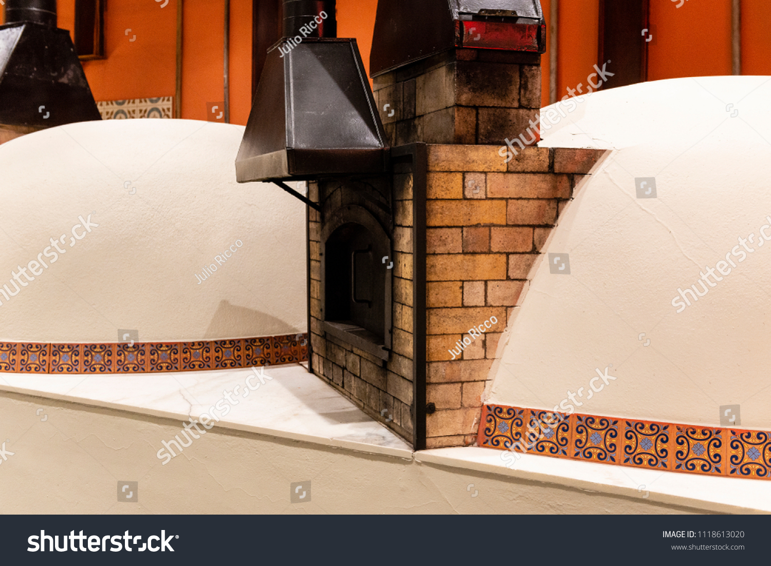 Refractory Brick Igloo Wood Oven Refractory Bricks Stock Photo Edit Now