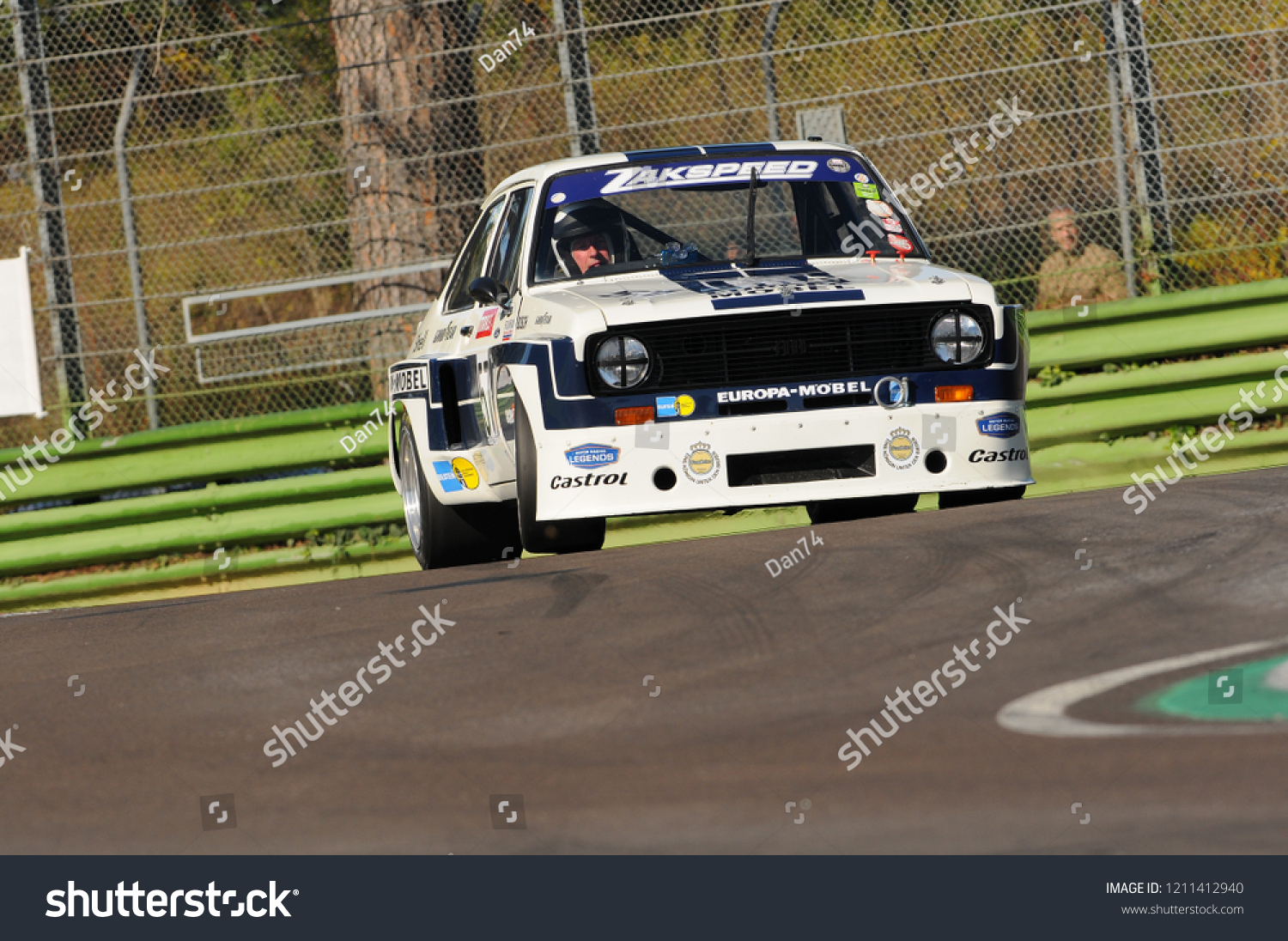Imola Classic 22 Oct 2016 Ford Stock Photo Edit Now 1211412940