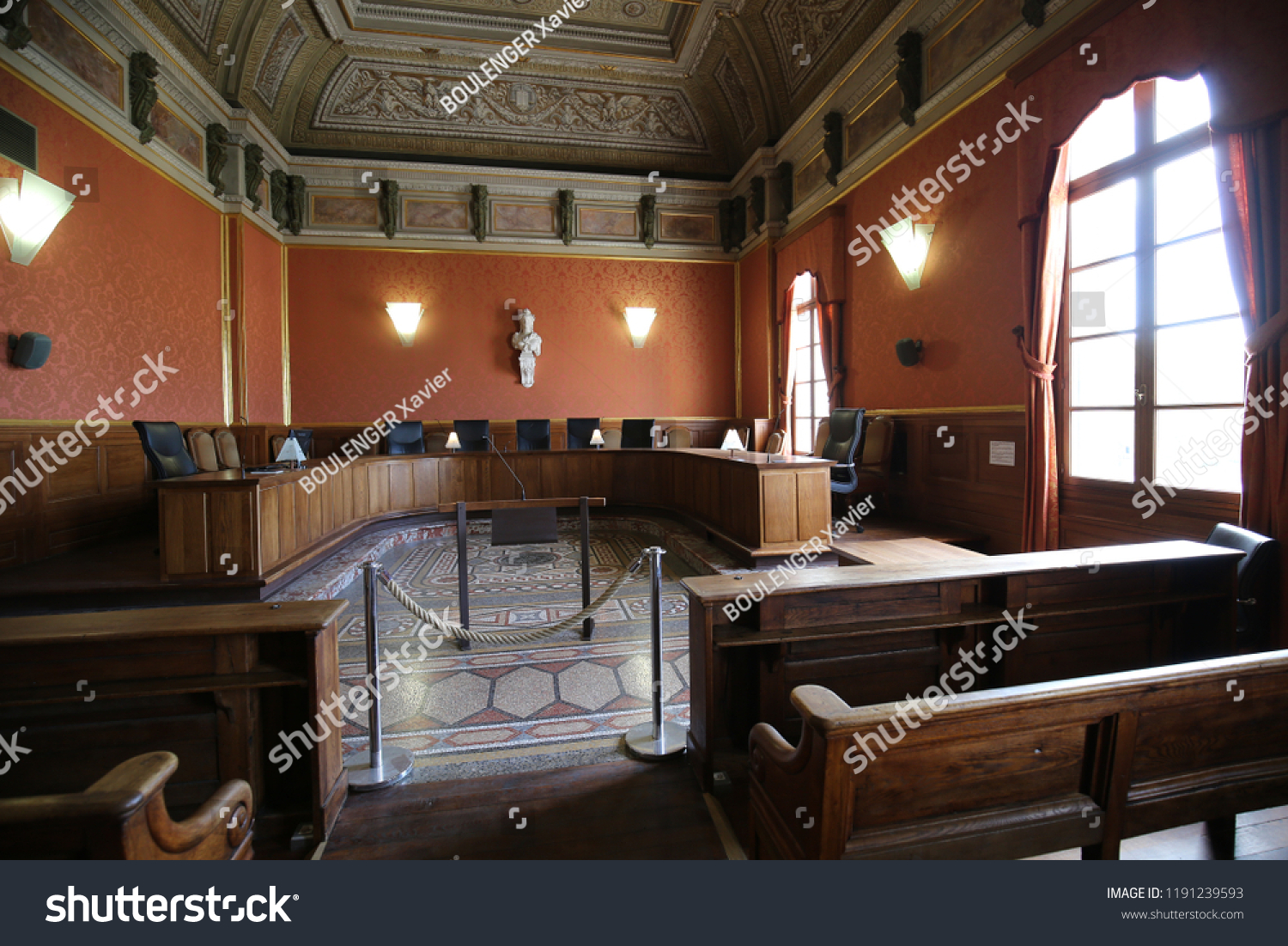 Restaurant Oriental Montpellier Indoor View Court Appeal First Hall Stock Photo Edit Now