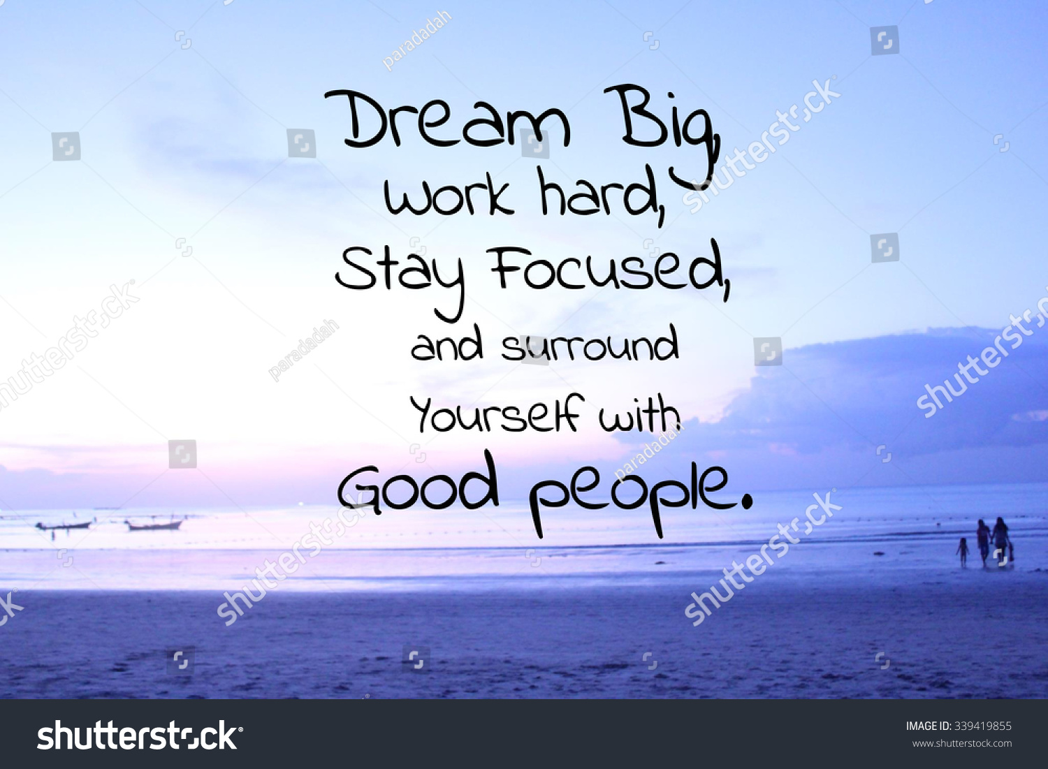 Parks And Recreation Wallpaper Quotes Inspirational Quote On Blurred Beach Background Stock