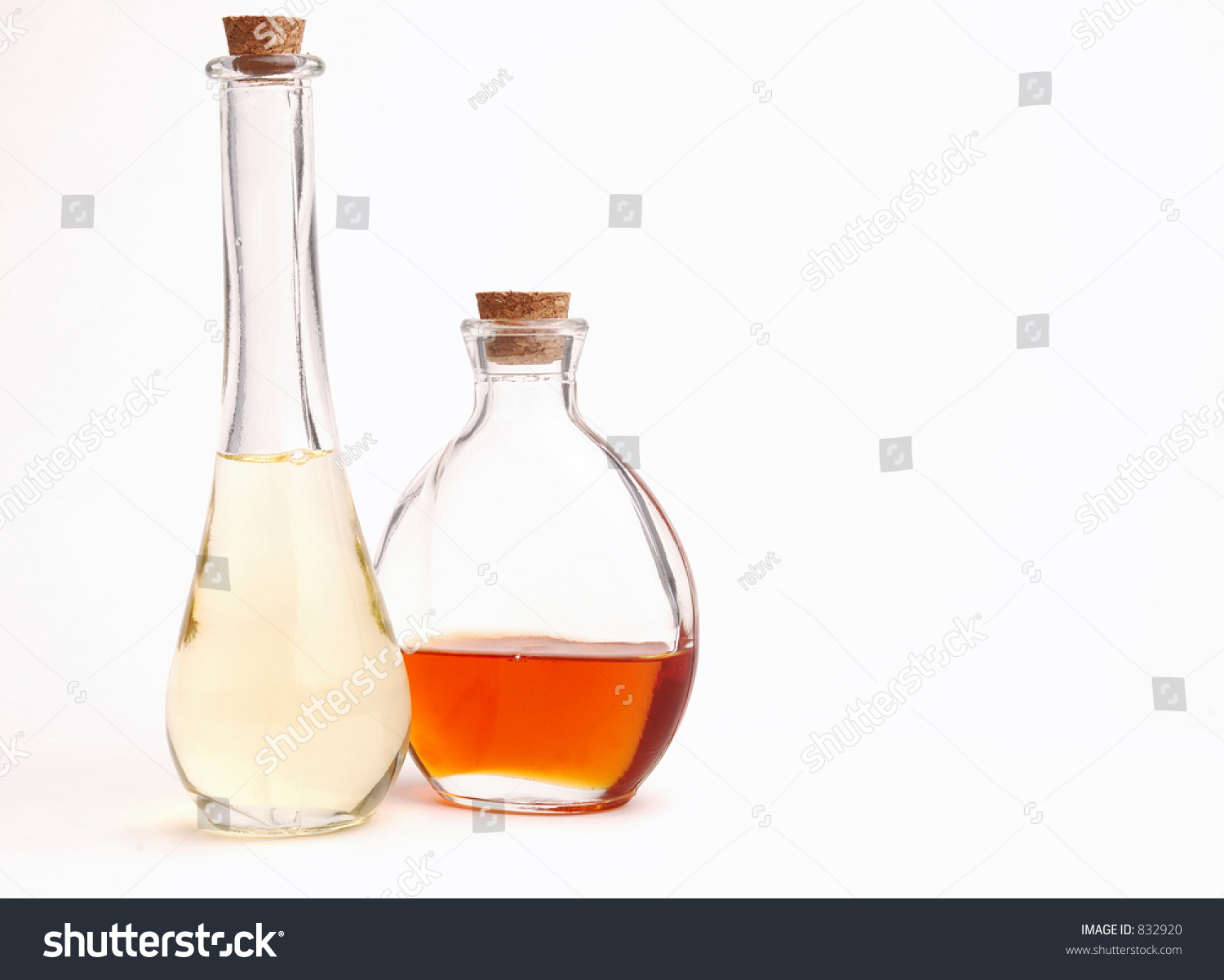 Interesting Bottles Interesting Bottles Vegetable Oils Stock Photo Edit Now 832920