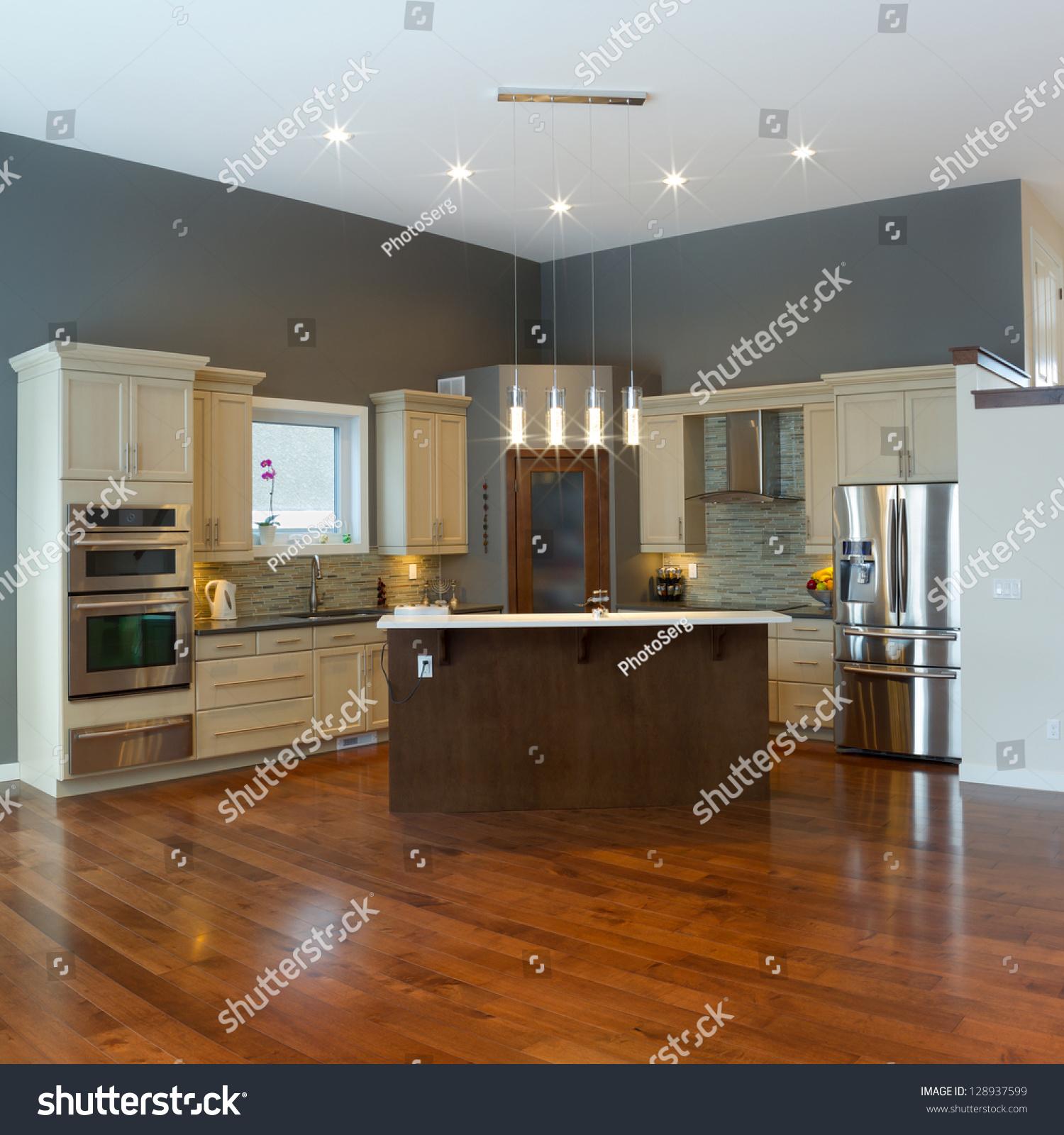 design modern kitchen interior design modern kitchen stock photo interior design decorating elegant kitchen cabinet island design ideas