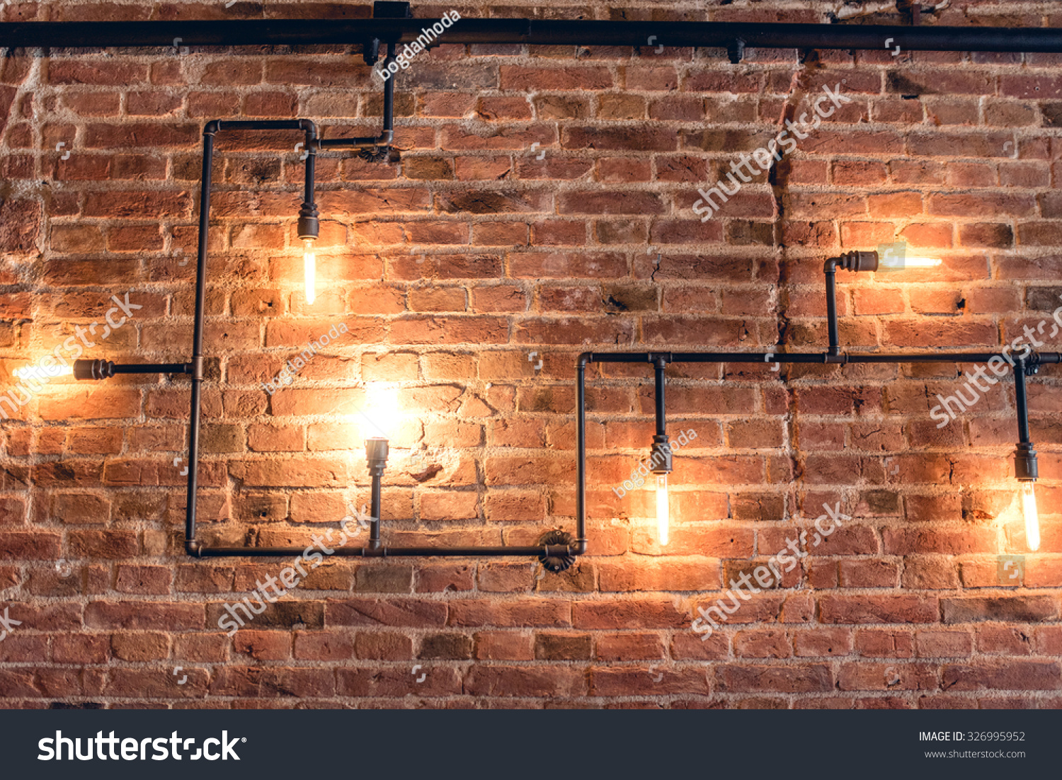 Rustic Walls Interior Interior Design Vintage Wall Rustic Design Stock Photo Edit Now