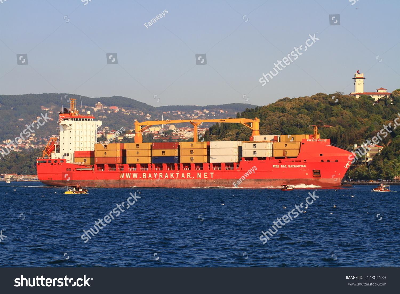 Istanbul oct 26 2012 container ship ayse naz bayraktar