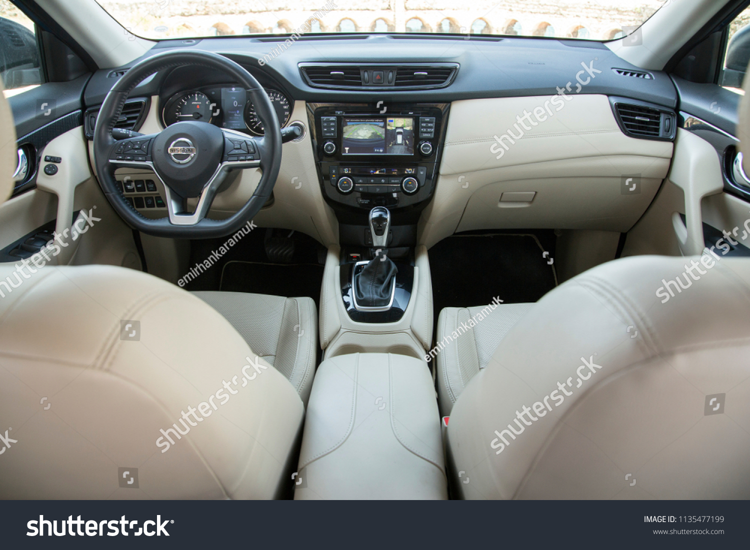 Interieur X Trail 2018 Istanbul Turkey June 28 2018 Nissan X Trail Stockfoto Jetzt