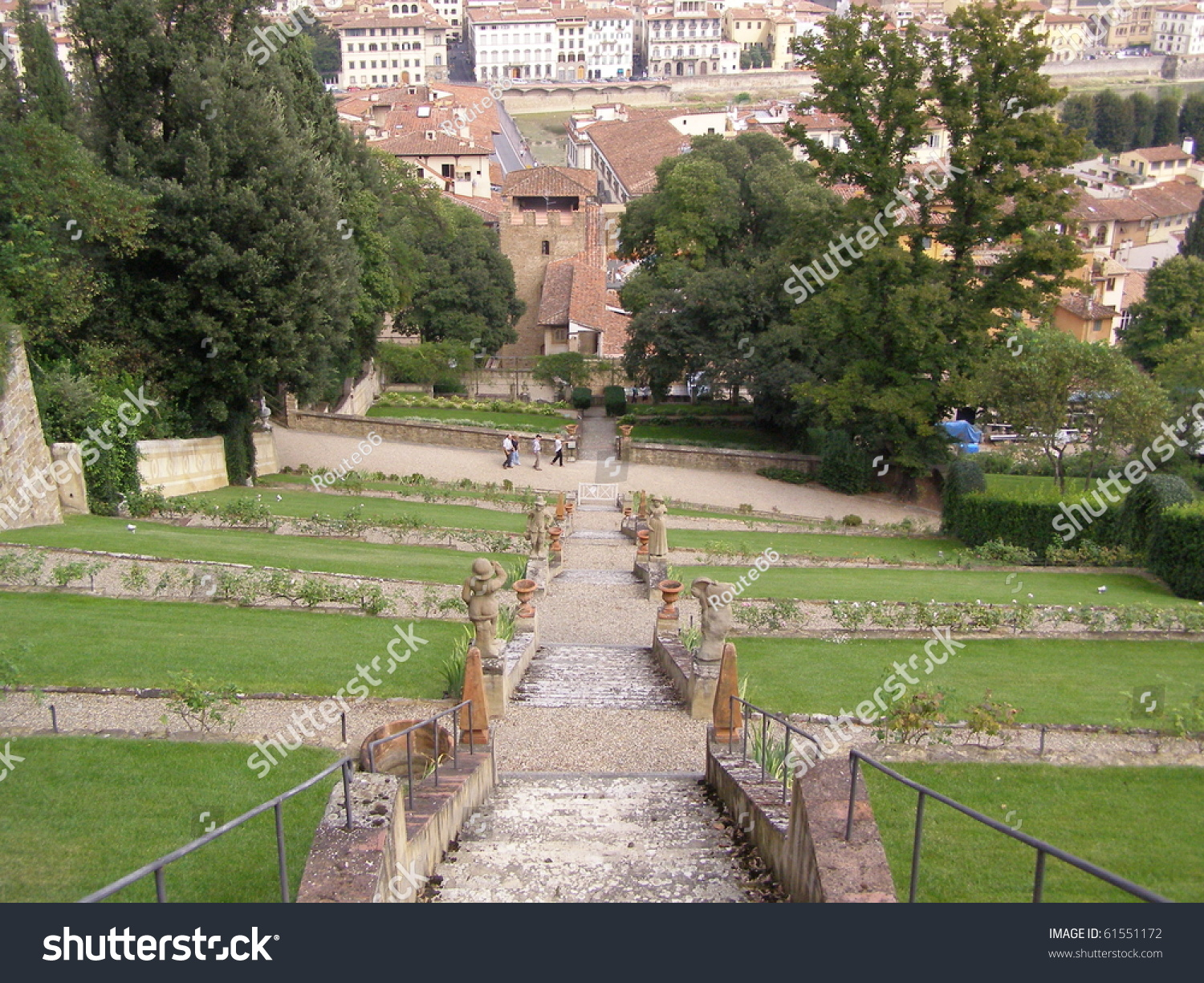 Giardino Italian Italian Garden Giardino Di Boboli Firenze Stock Photo Edit Now