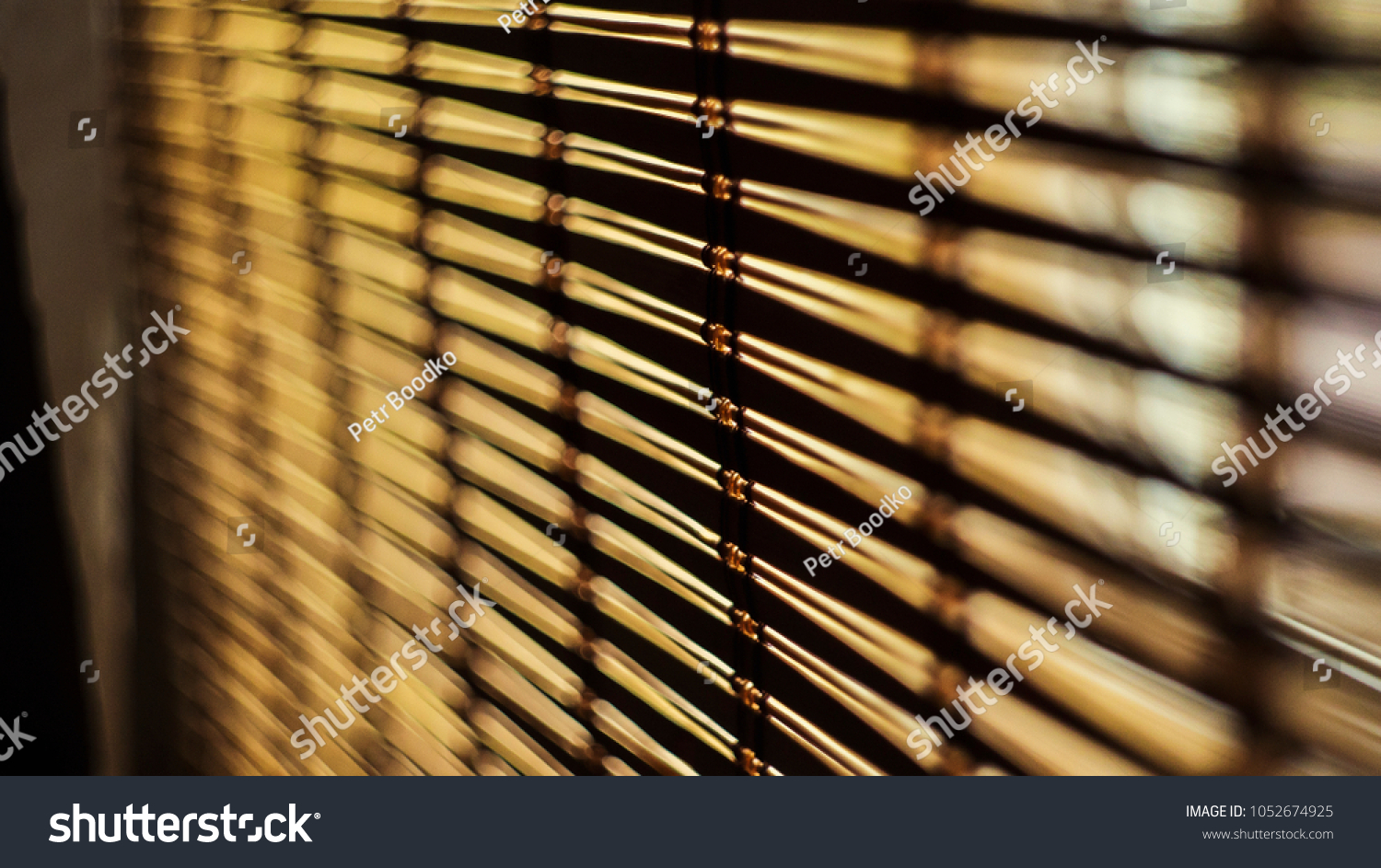 Schalosien Hamburg Jalousie Bamboo House Stock Photo Edit Now 1052674925 Shutterstock