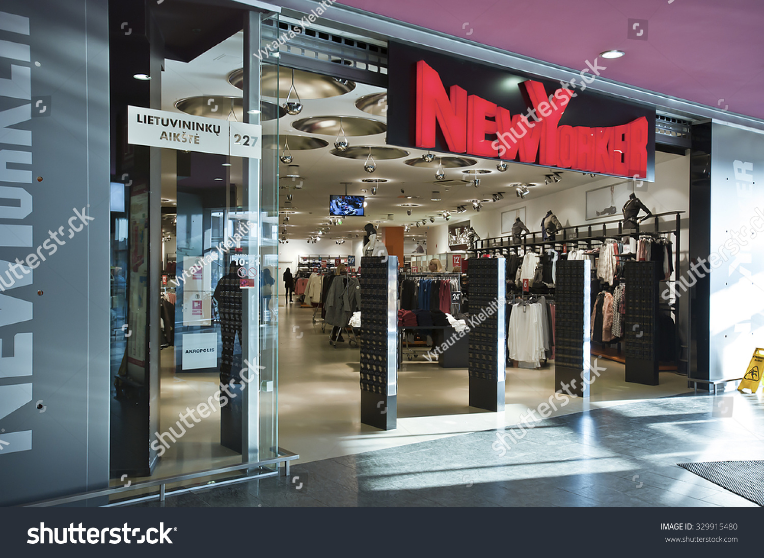 Braunschweig Outlet Klaipedalithuaniaoct 19 Nike Store On October 19 Stock Photo Edit