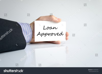 Loan Approved Text Concept Isolated Over Stock Photo 324036401 - Shutterstock
