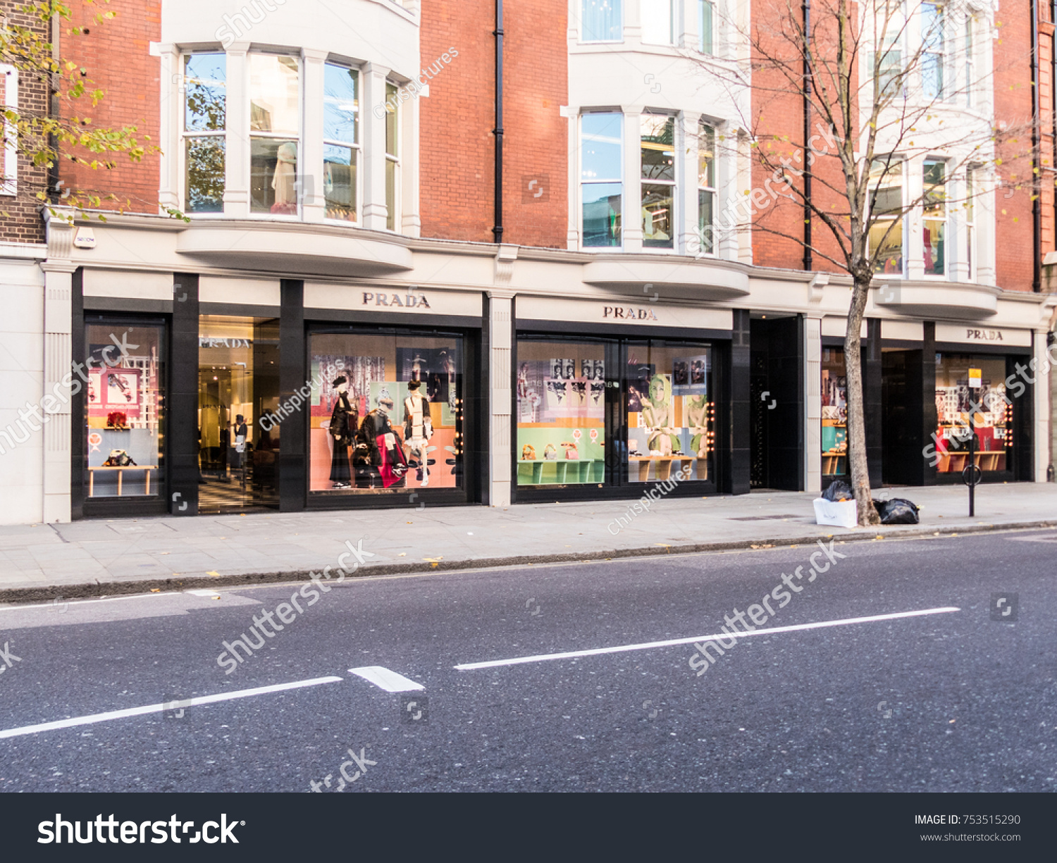 Rosali Bremen London November 2017 Front Exterior View Stock Photo Edit Now