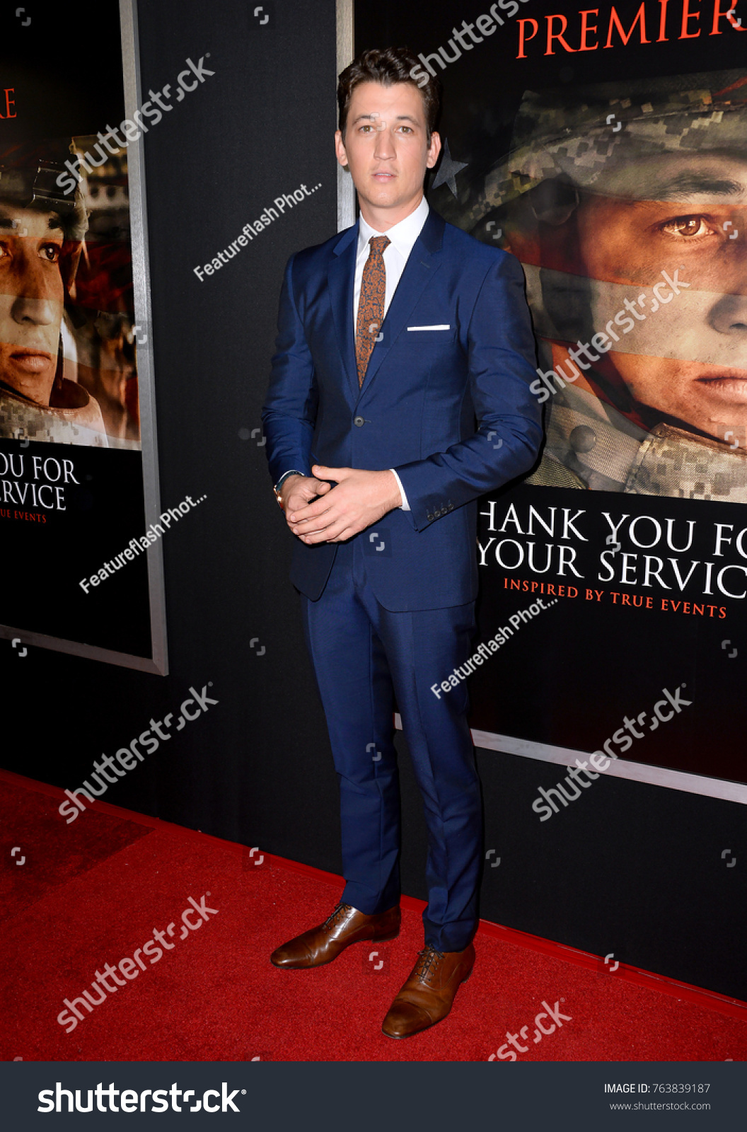 Teller Regal Los Angeles Ca October 23 2017 Miles Teller At The Premiere