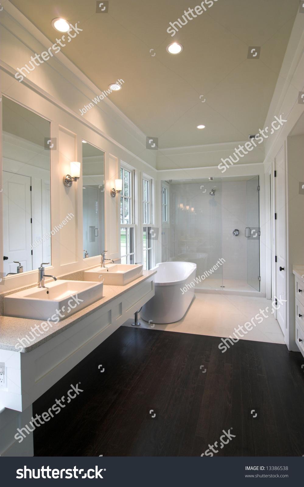 Dark wood floor bathroom - Dark Wood Floor Bathroom Bathroom With Dark Wood Floors Download