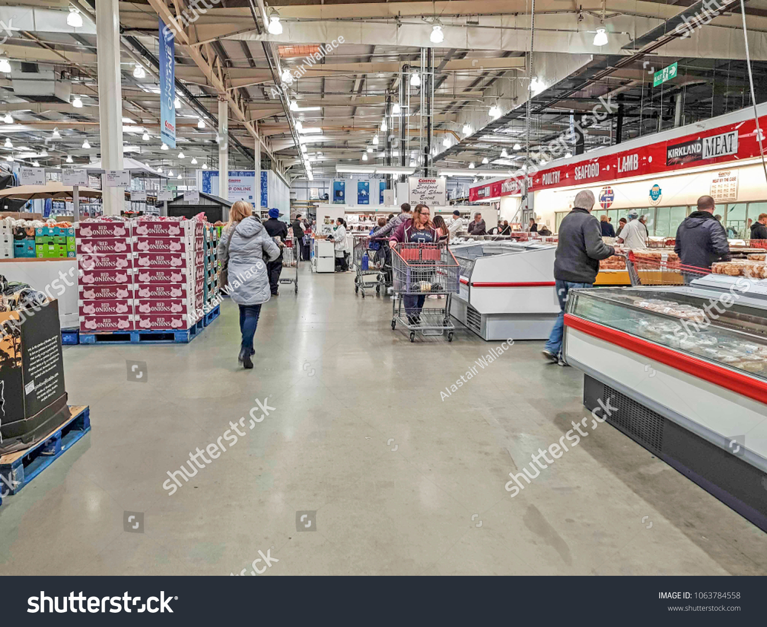 Costco Montreal Downtown Manchester Uk April 7 2018 Interior Stock Photo Edit Now