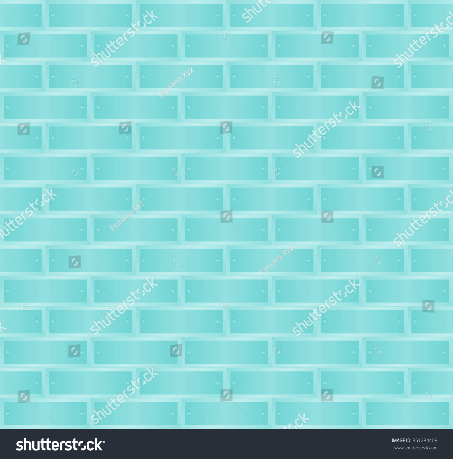 Turquoise Brick Wallpaper Metallic Light Turquoise Blue Texture Pattern Background