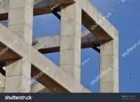 Modern Building Facade Columns Abstract Architectural ...