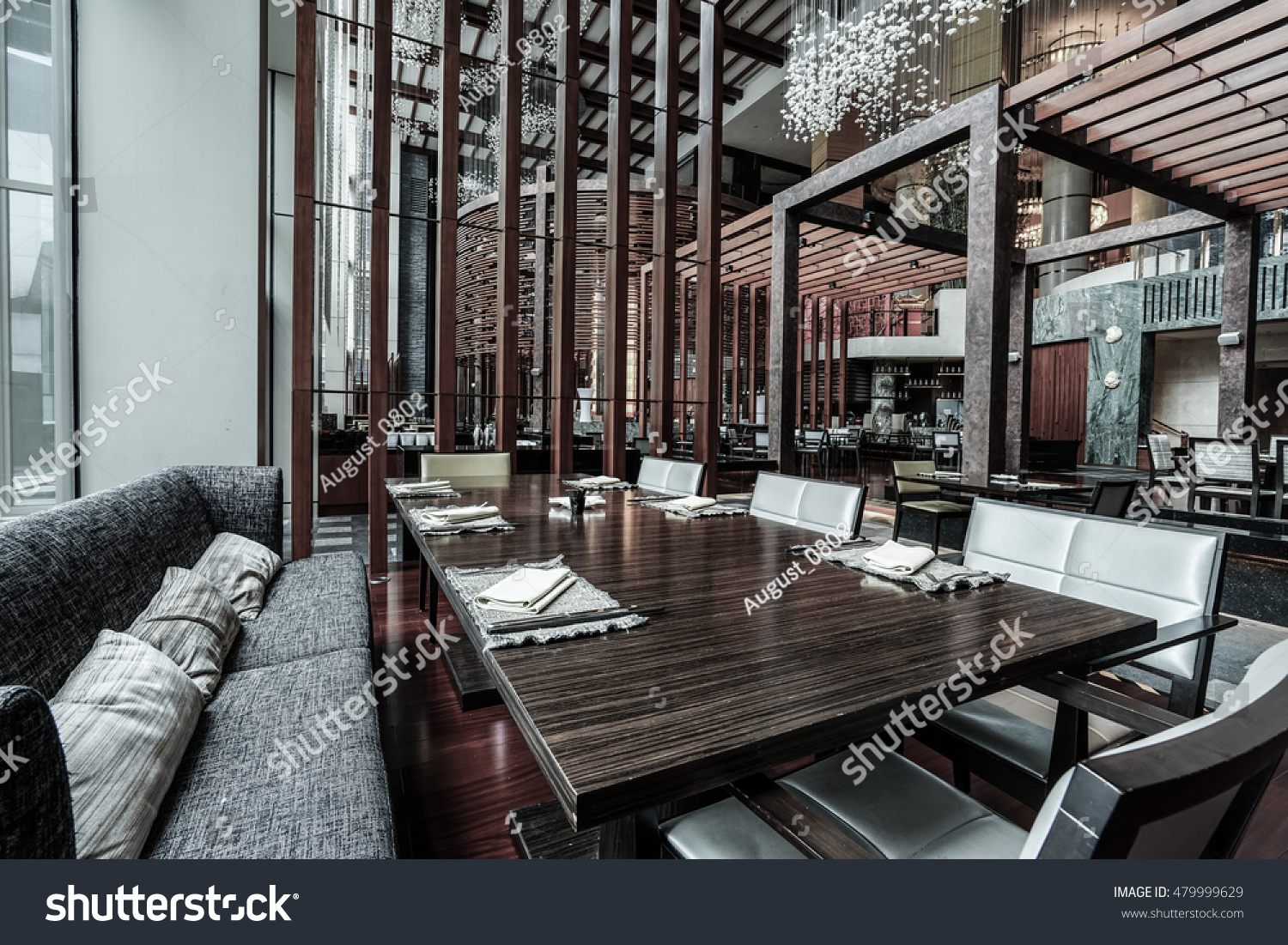 Modern Lounge Modern Lounge Bar Interior Stock Photo Edit Now 479999629