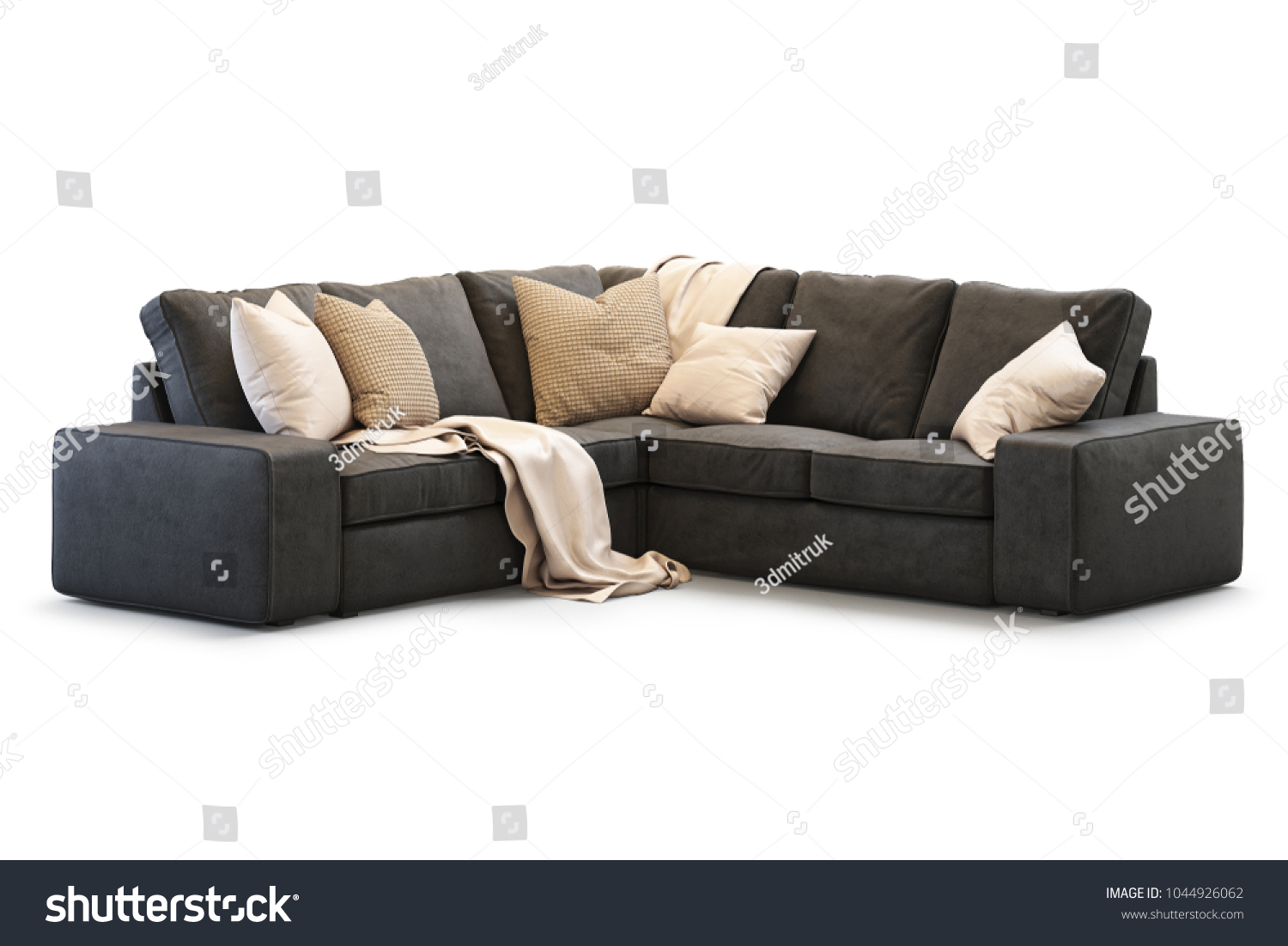 Kivik Sofa Leather Royalty Free Stock Illustration Of Modern Textile Ikea Kivik Sofa