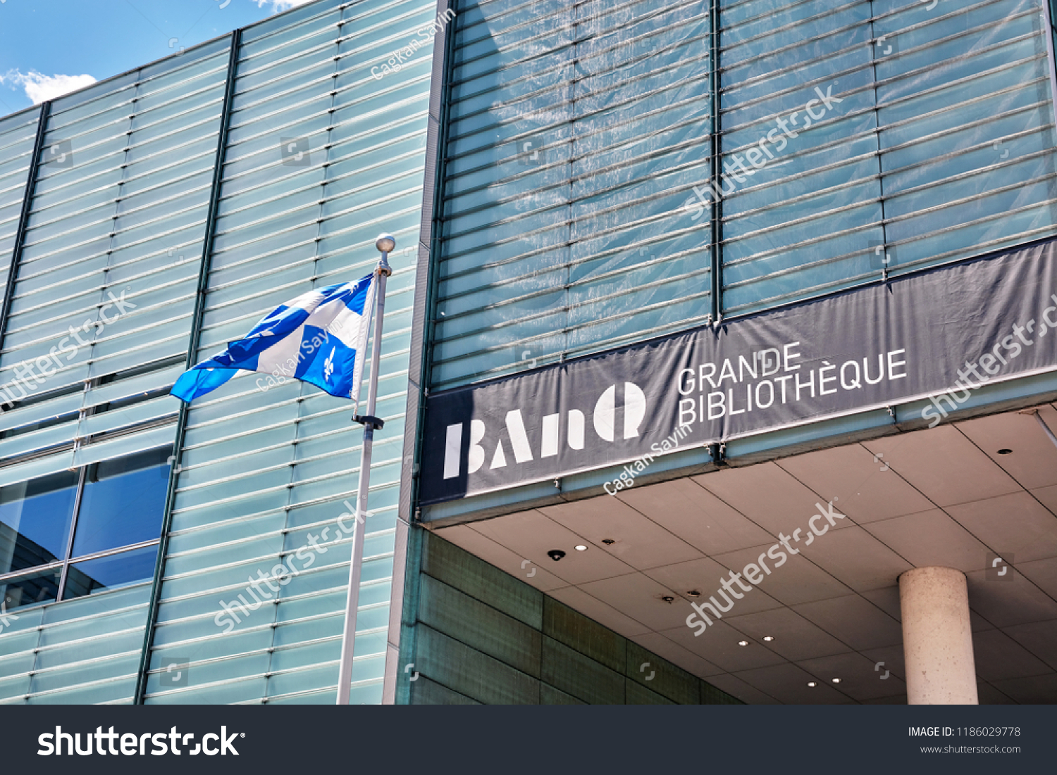 Bibliotheque Grande Montreal Canada June 2018 Ban Q Grande Stock Photo Edit Now