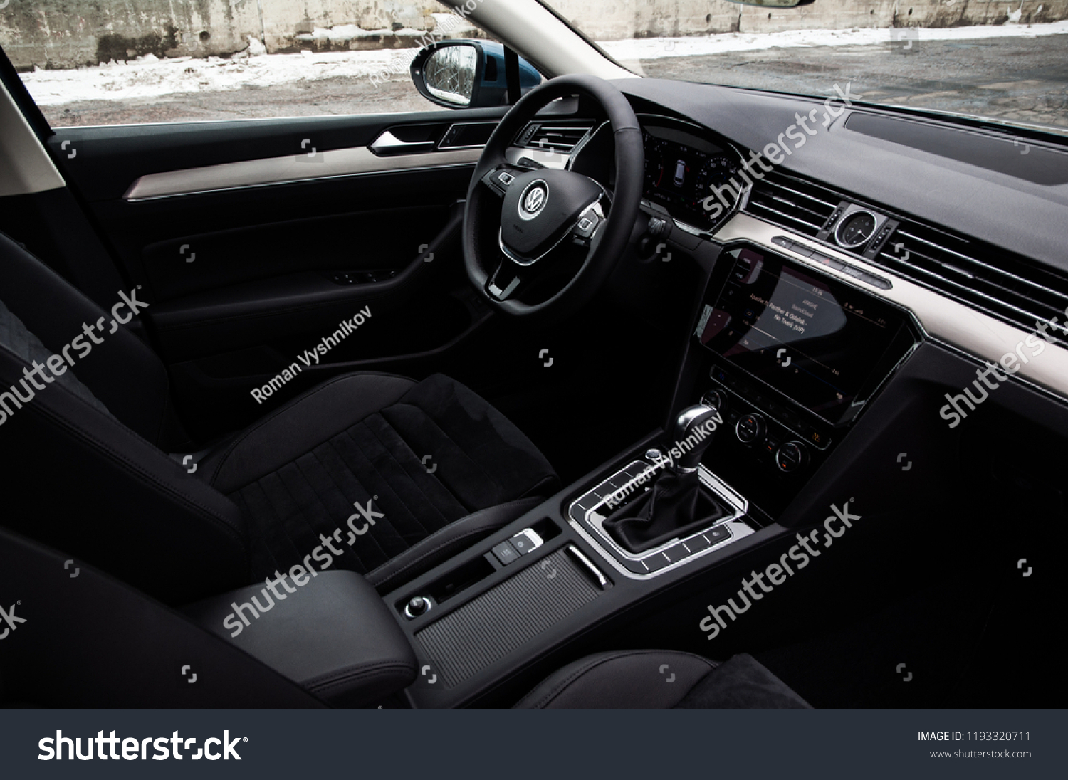 Dsg Passat Moscow Russia March 11 2018 Volkswagen Stock Photo Edit Now