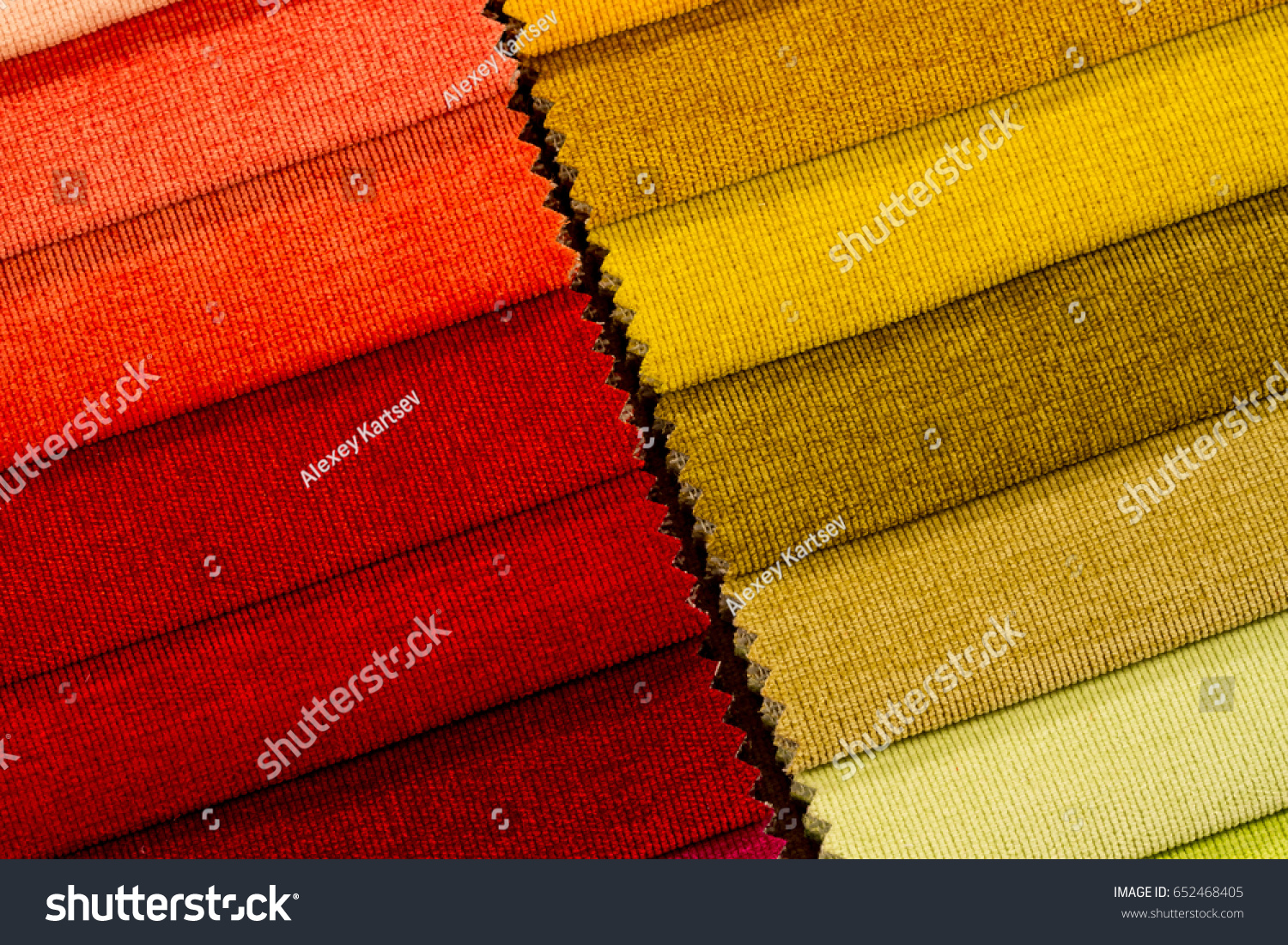 Sofa Fabric Samples Multicolored Samples Furniture Fabric Stock Photo Edit Now