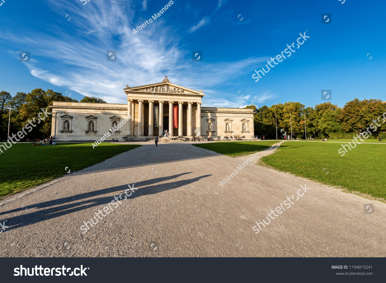 Villa Medici München Munich Germany Sept 8 2018 Glyptothek Stock Photo Edit Now