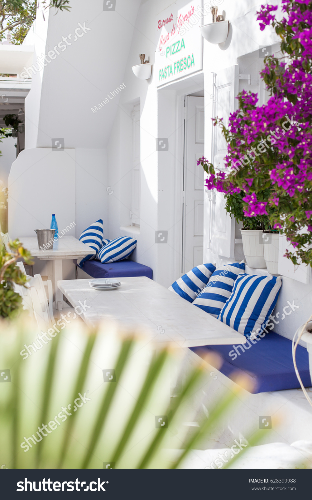 Sofa House Greece Mykonos Greece June 2016 Outside Sofas Stock Photo Edit Now