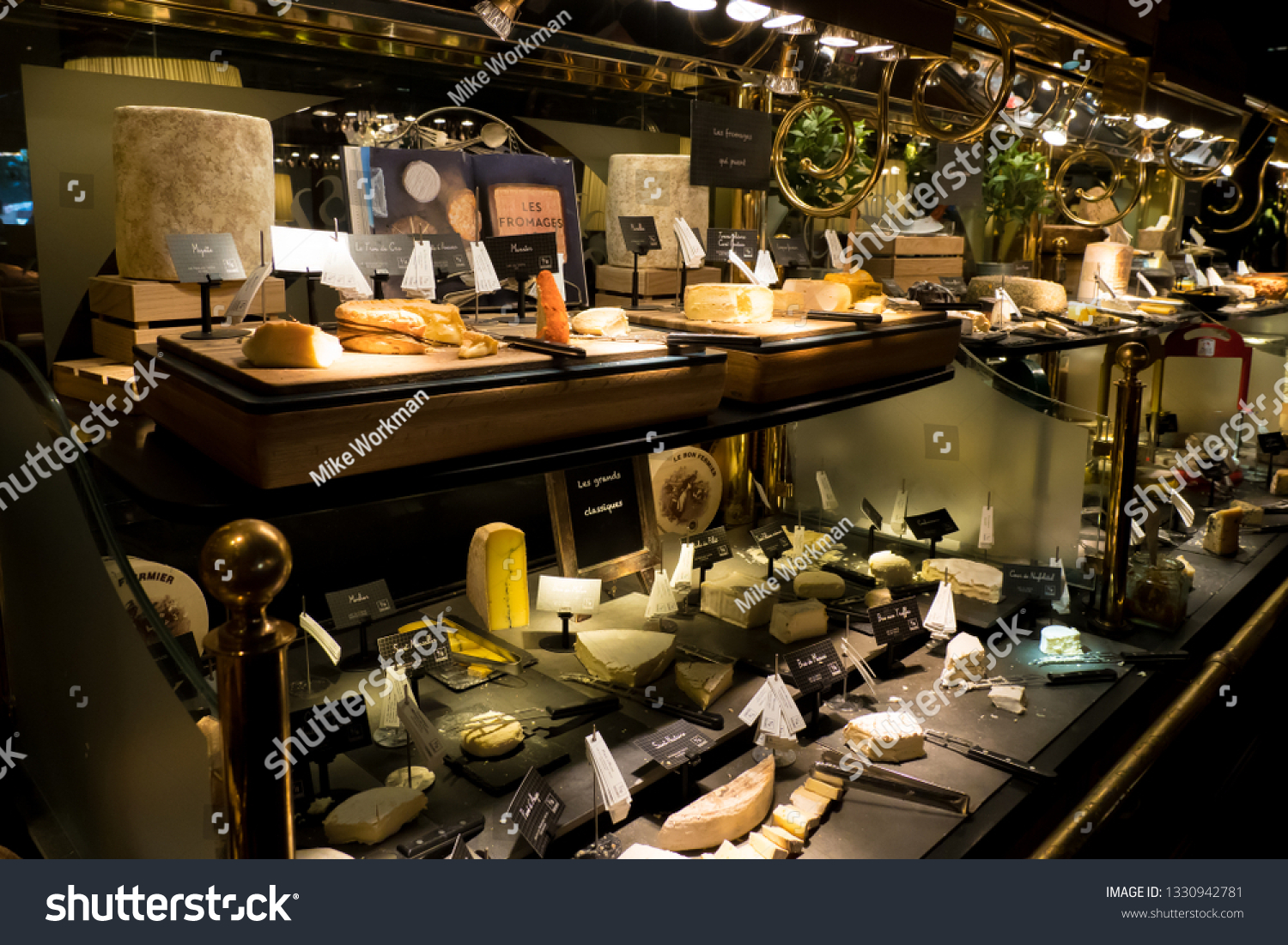 Narbonne France Worlds Largest Cheese Selection Stock Photo Edit Now 1330942781