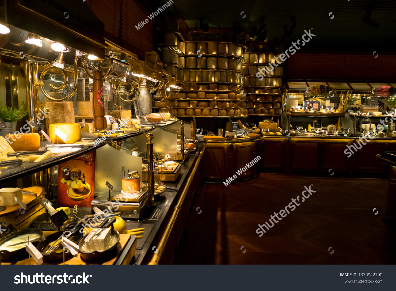 Narbonne France Worlds Largest Cheese Selection Stock Photo Edit Now 1330942790