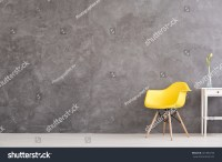 New Yellow Chair Small Decorative Table Stock Photo ...