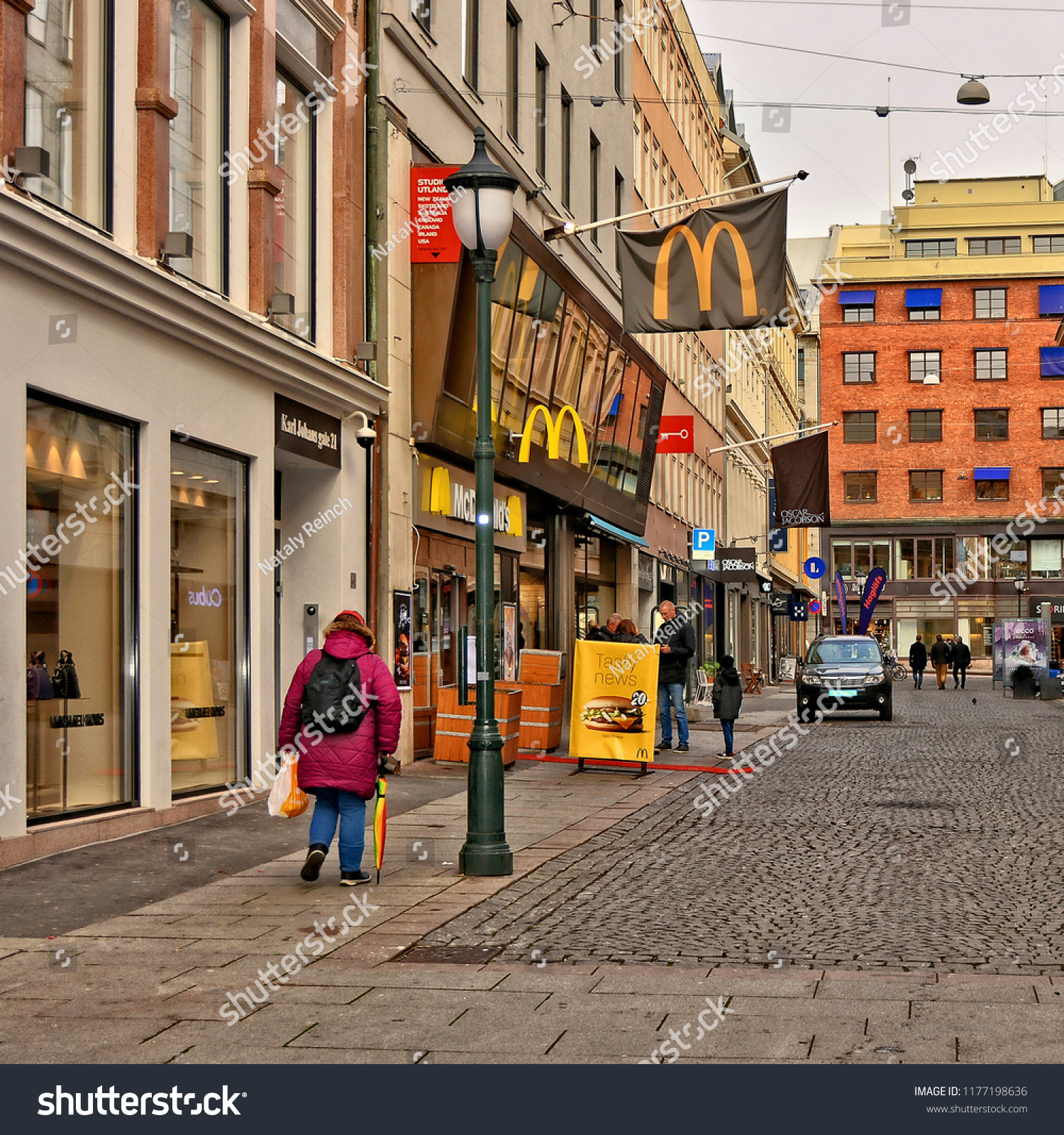 Norwegian Oslo Norwegian Urban Landscape Modern Lifestyle Oslo Stock Photo Edit