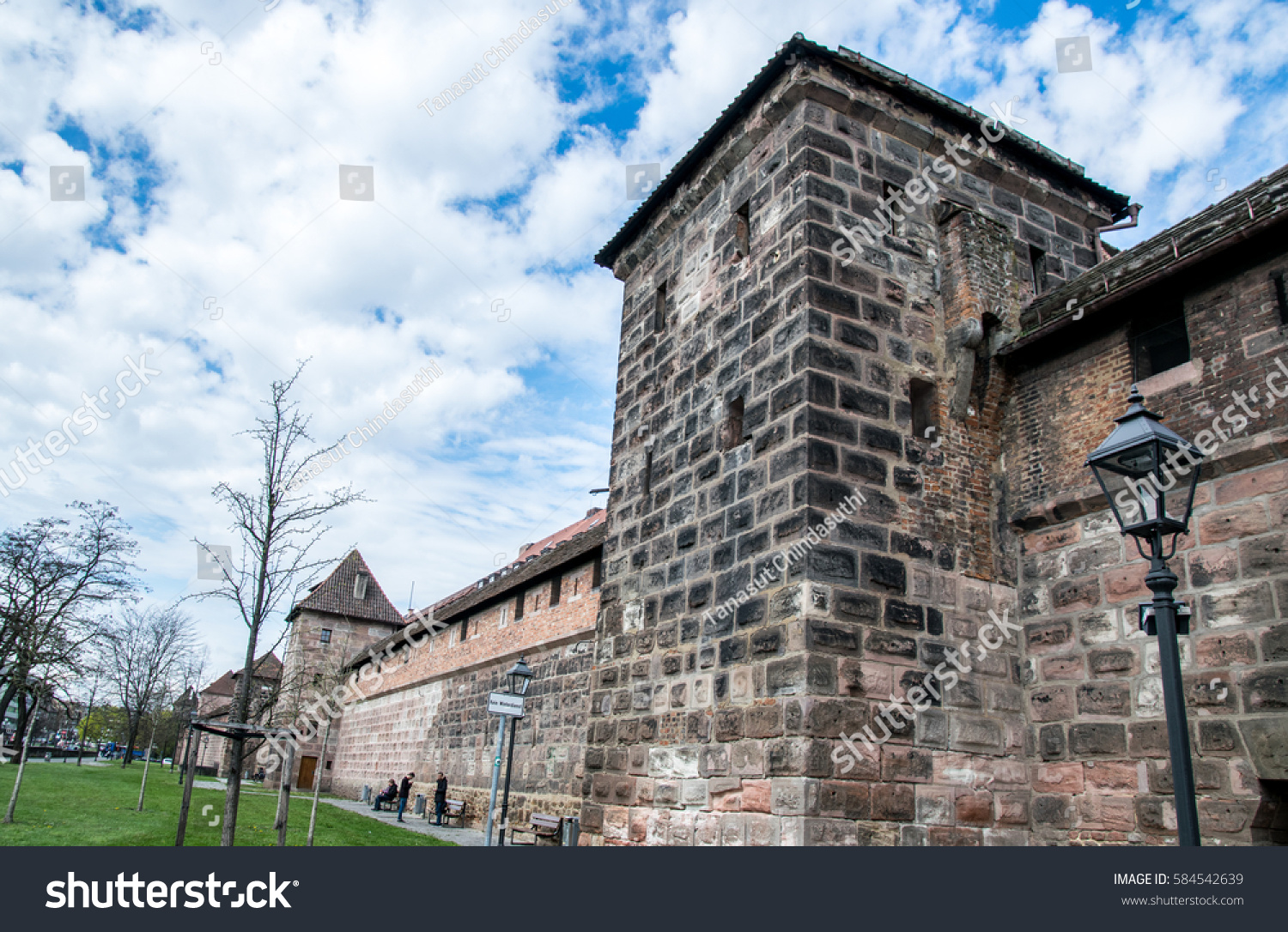 Sanders Nürnberg Nuremberg Germany April 13 2016 Old Stock Photo Edit Now
