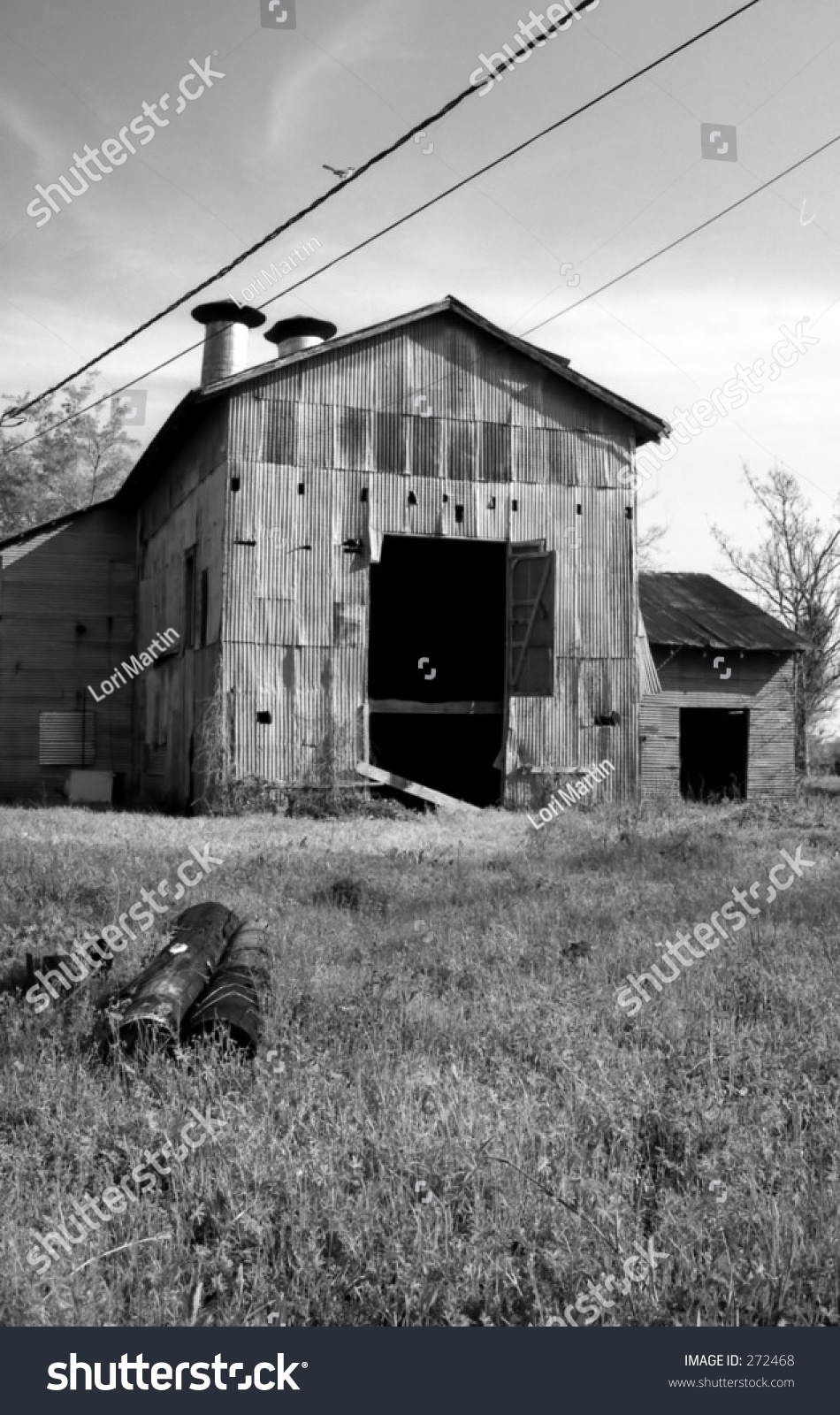 Old Barn Black White Stock Photo Edit Now 272468