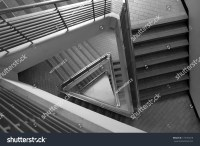Pattern Triangle Stair Black White Tone Stock Photo ...