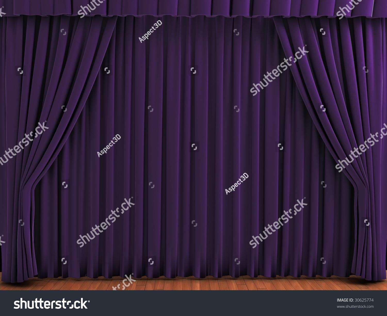 Purple silk curtains - Purple Stage Curtains Purple Theater Curtains Realistic Illustration Of Velvet Curtains Purple Velvet Curtains