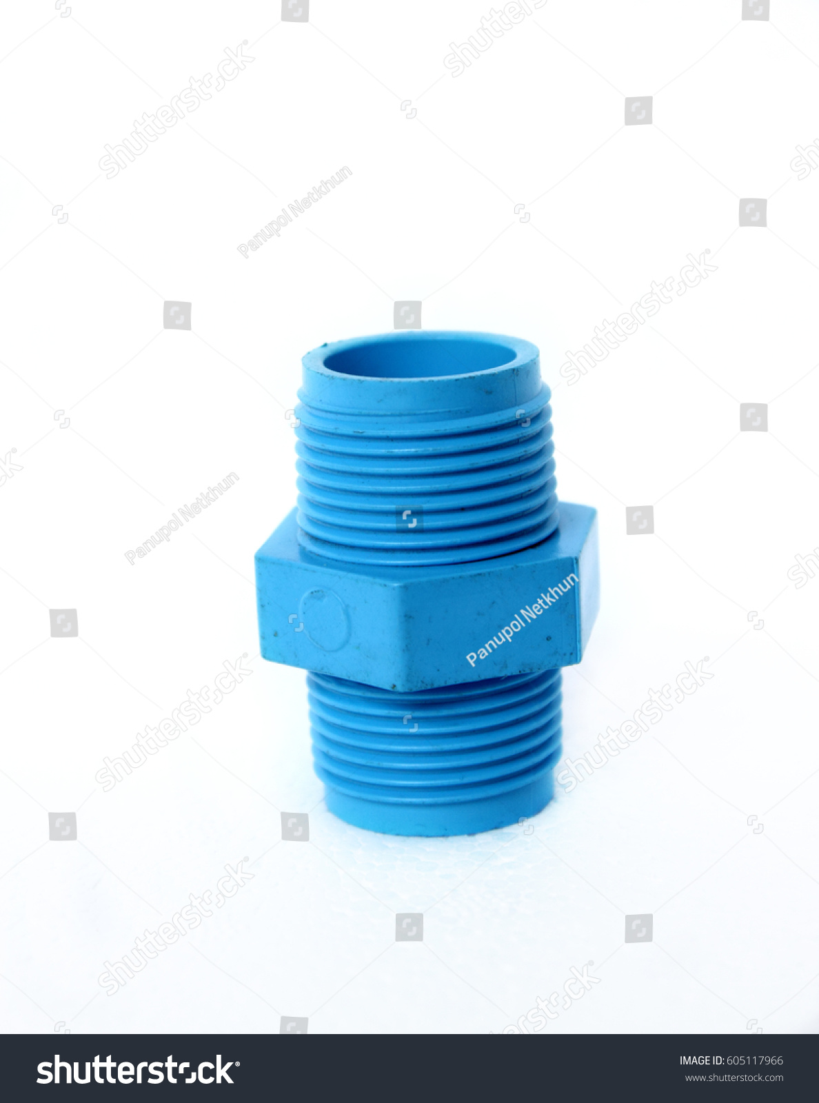 Pvc Joints Pvc Joints On Isolate Stock Photo Edit Now 605117966 Shutterstock