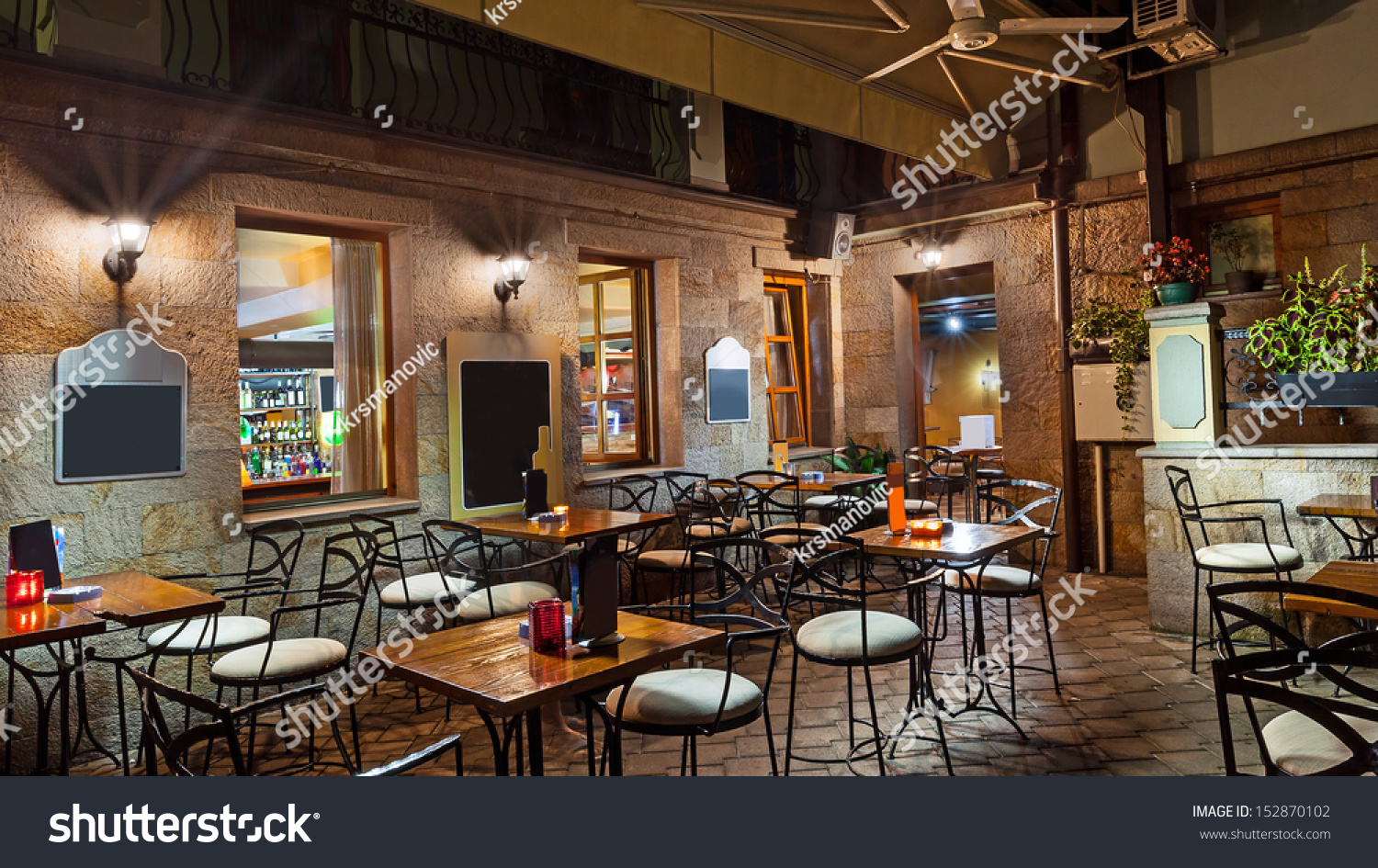 Vintage Look Restaurant Lobby Modern Vintage Look Stock Photo (edit Now) 152870102