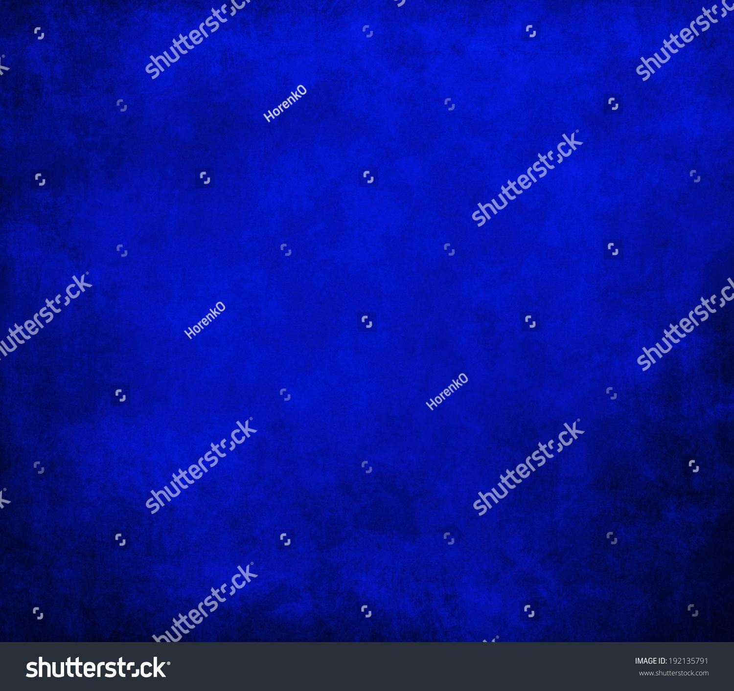 Cool Blue Paint Royal Blue Background Black Border Cool Stock Illustration