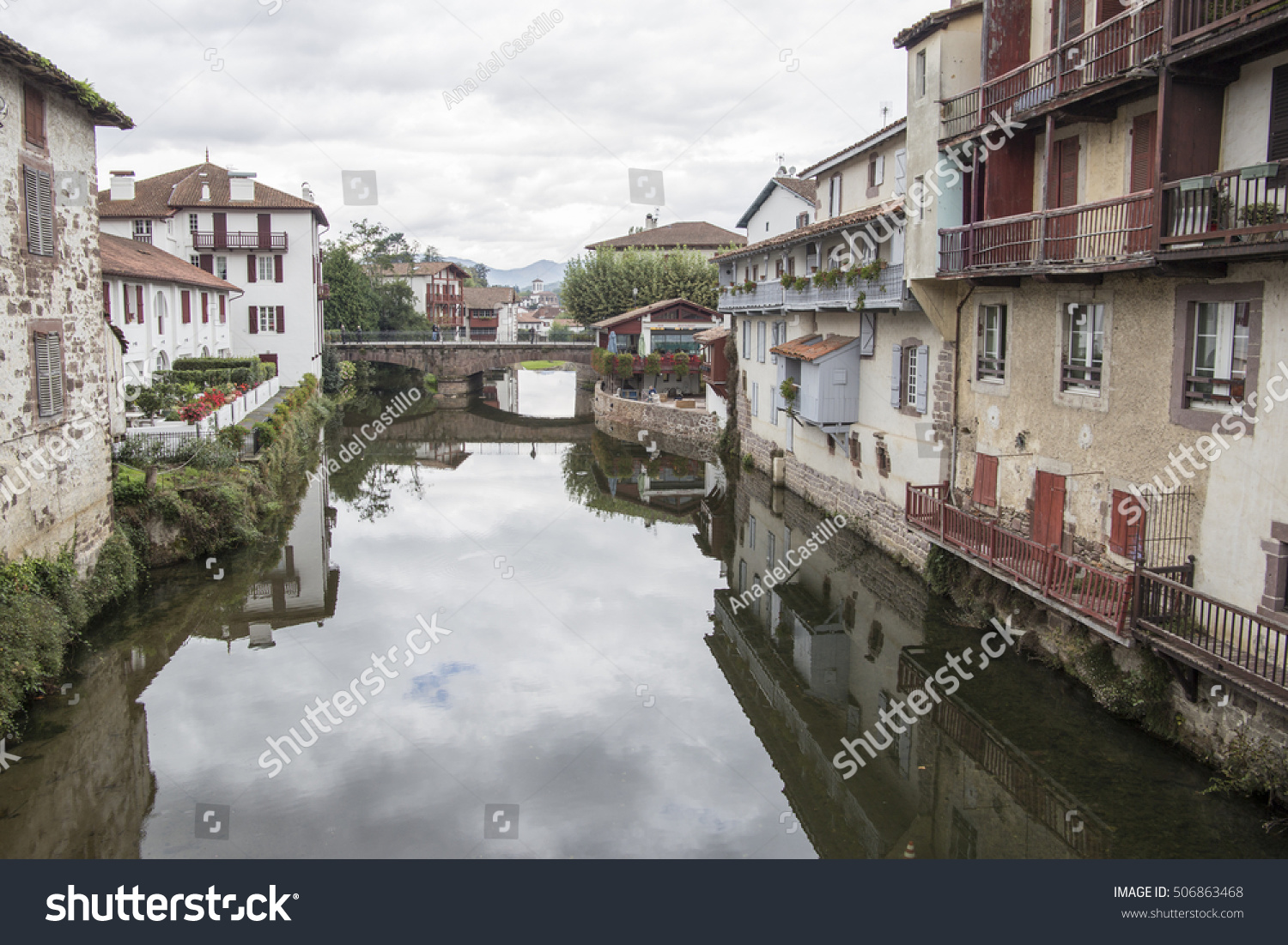 Saint Jean Pied De Port Saint Jean Pied De Port Traditional Stock Photo Edit Now