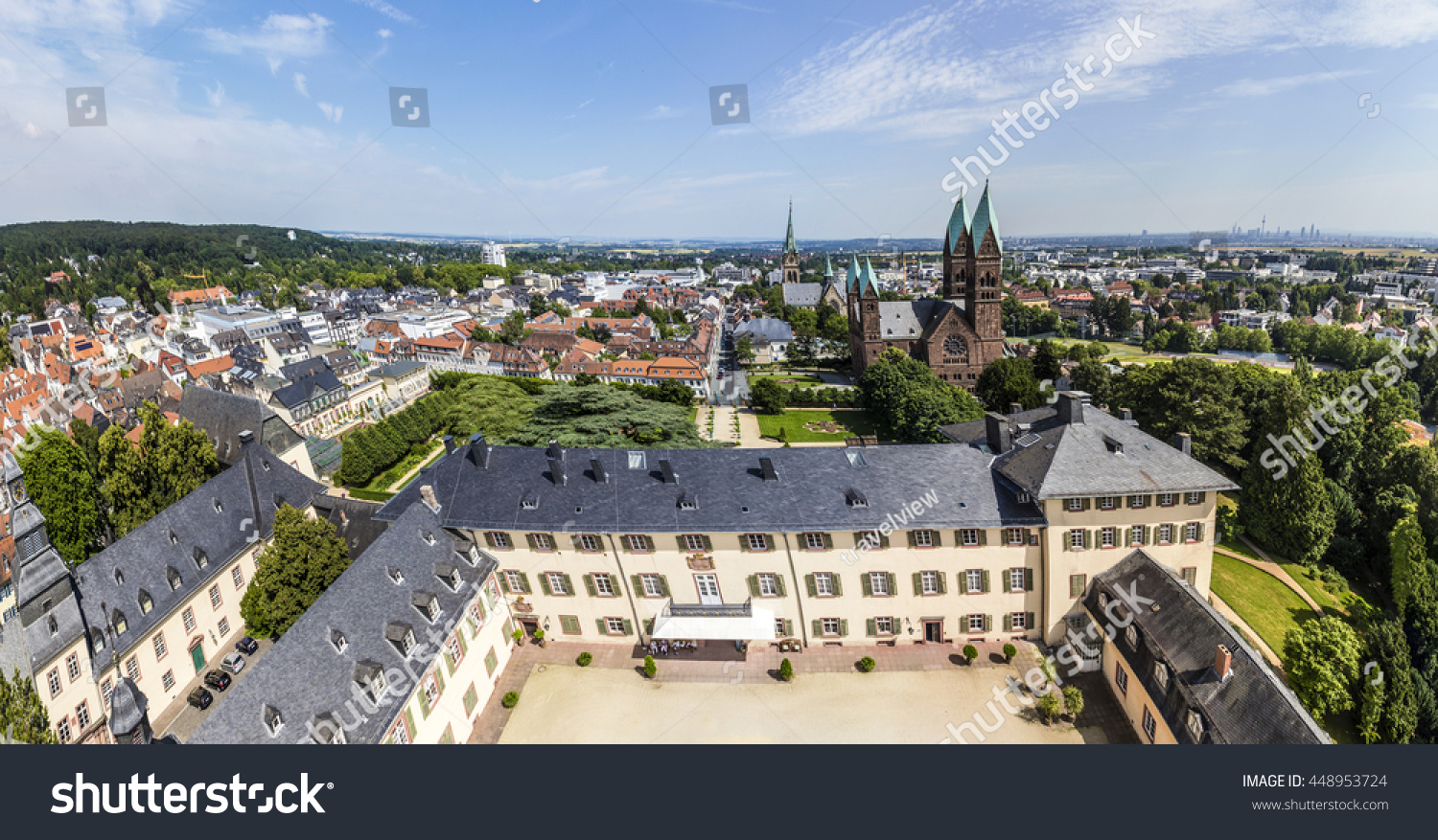 Bad Homburg Scenic View Bad Homburg Skyline View Stock Photo Edit Now